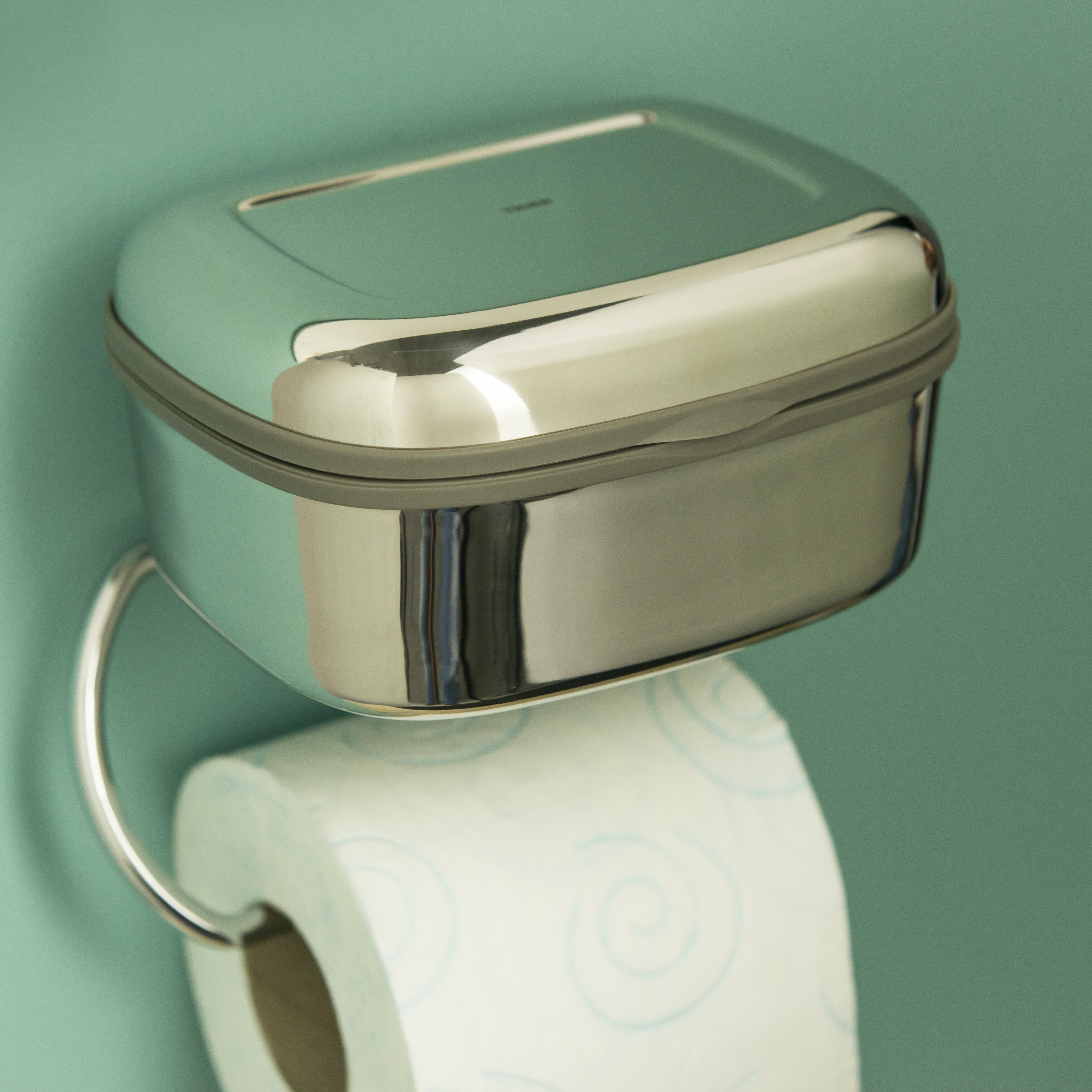 Tiger combi wall mounted toilet roll holder reviews Glass toilet roll holder
