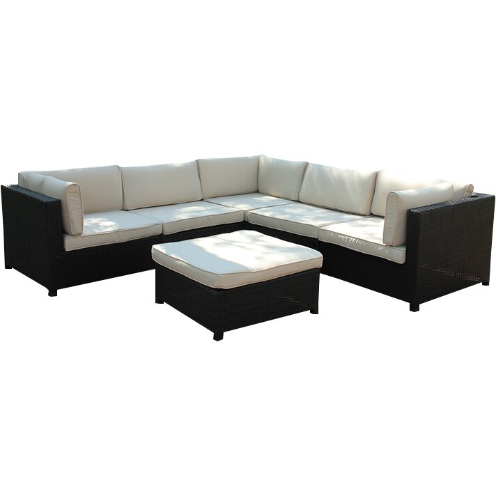 Northlight Outdoor Furniture Sectional Sofa Set with