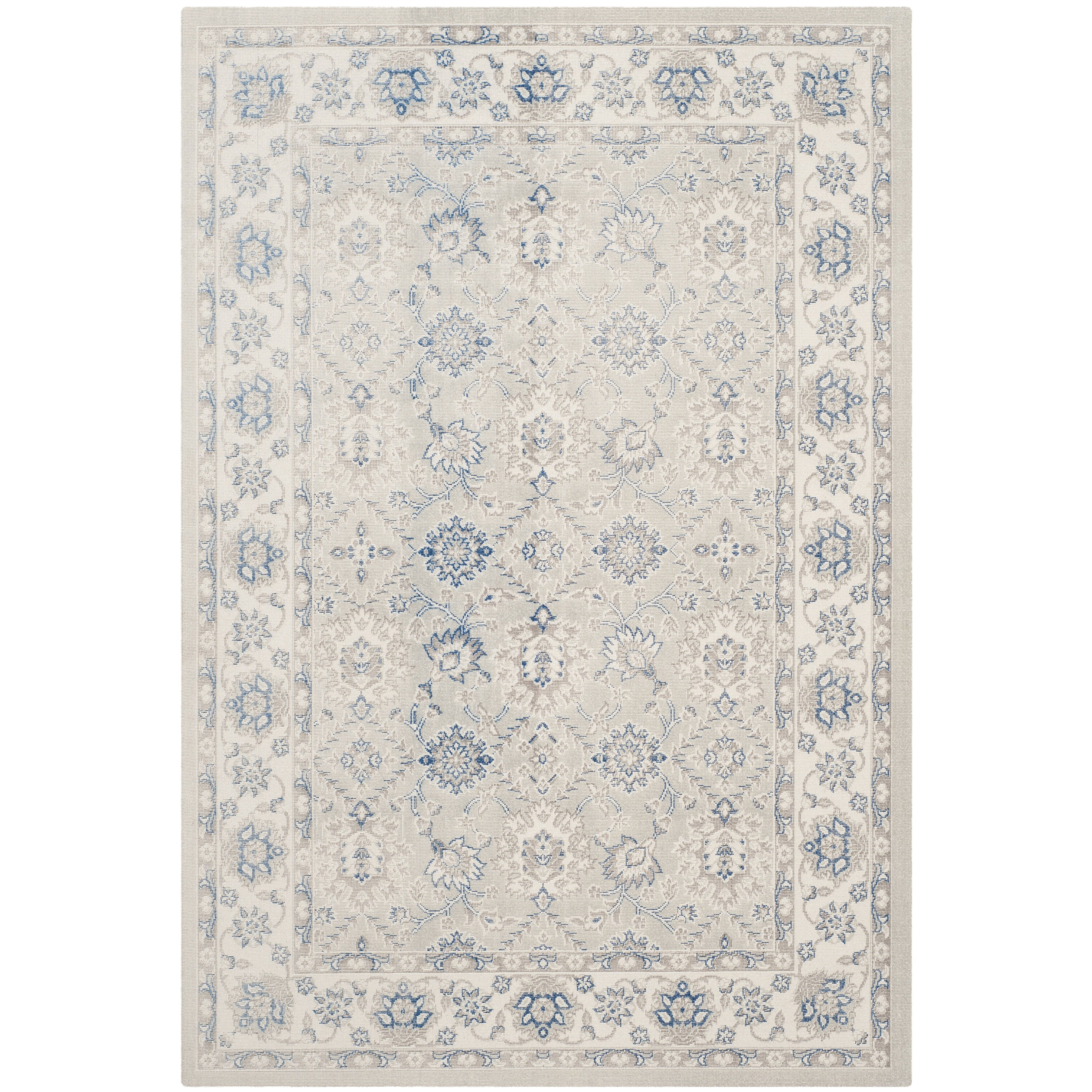 Darby Home Co Patina Light Blue/Ivory Area Rug & Reviews