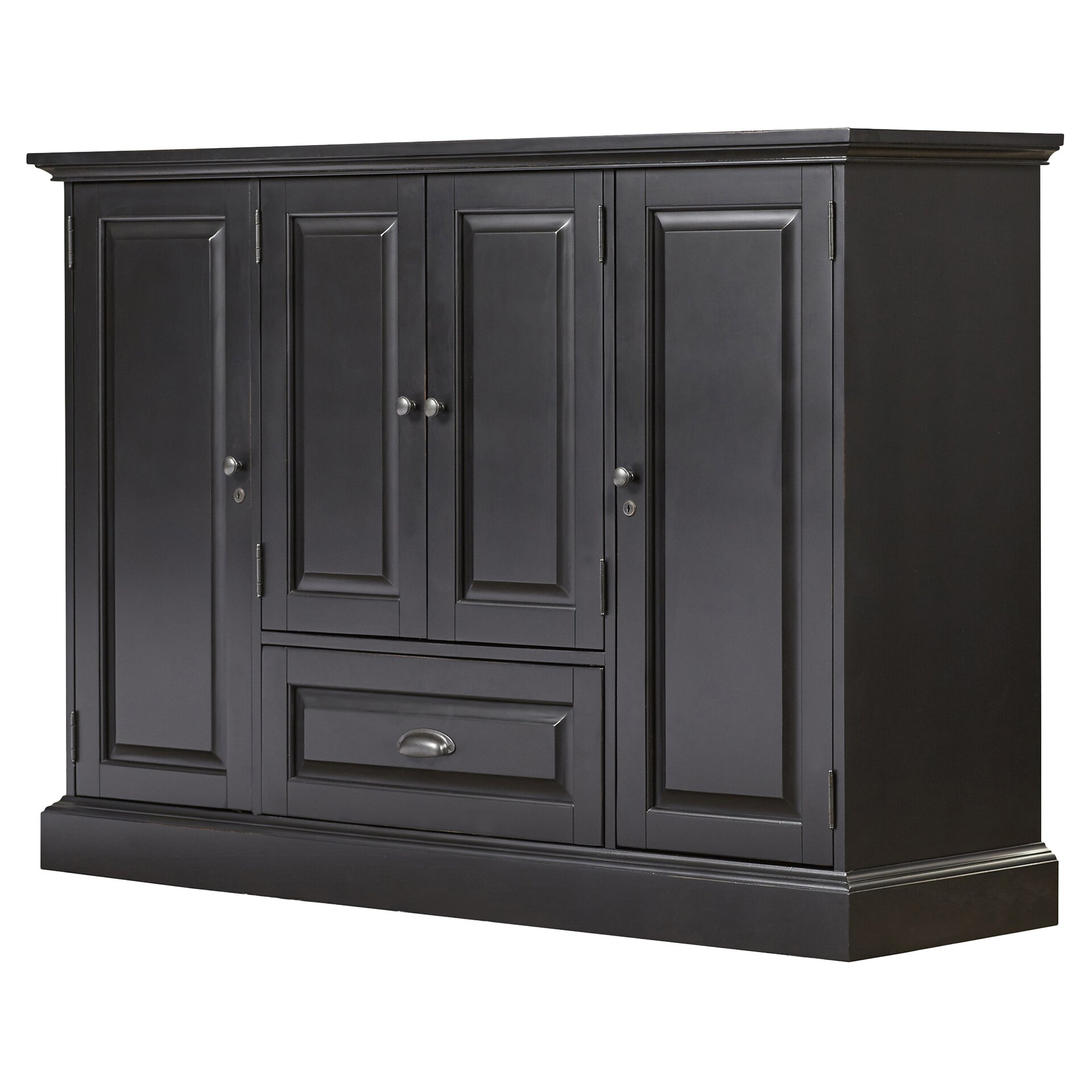Darby Home Cou0026reg; Styward Bar Cabinet with Wine Storage