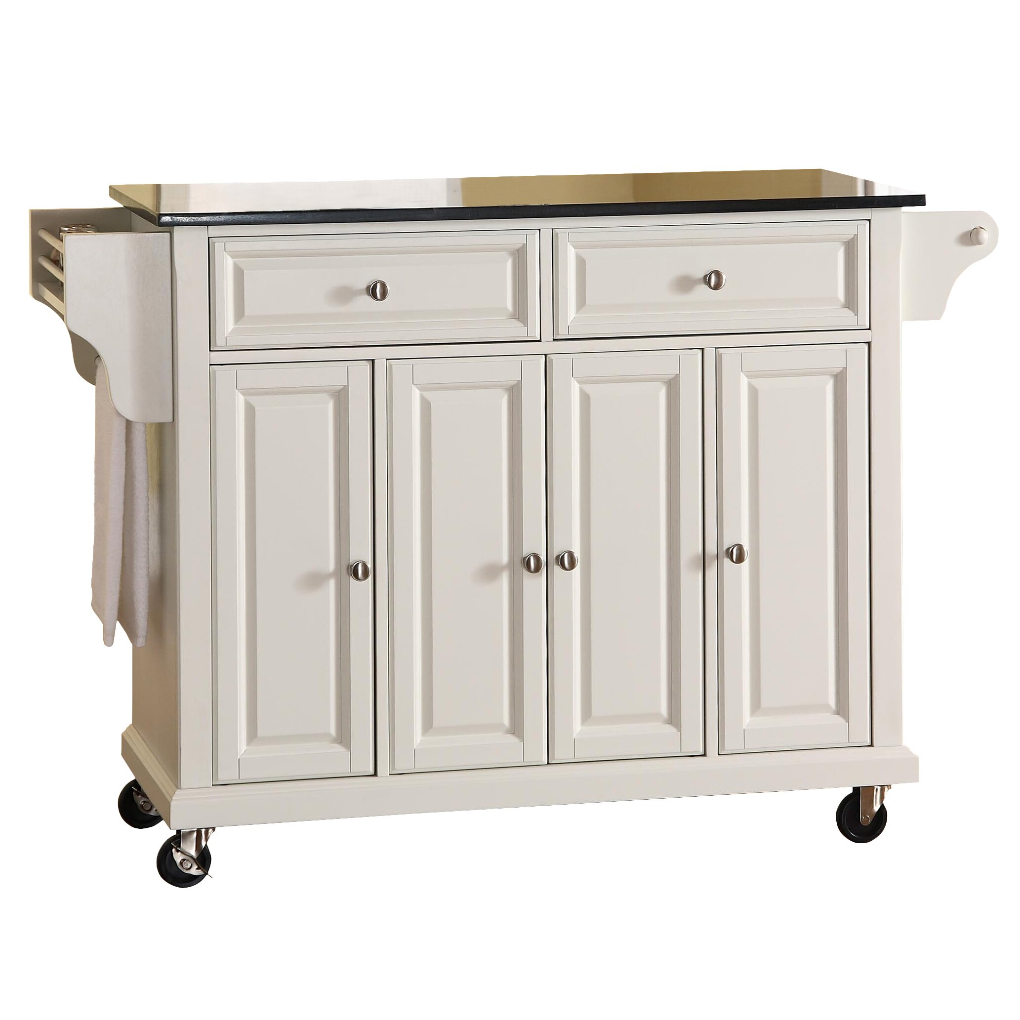 Granite Top Kitchen Trolley White Kitchen Island Cart Granite Top Best Kitchen Island 2017