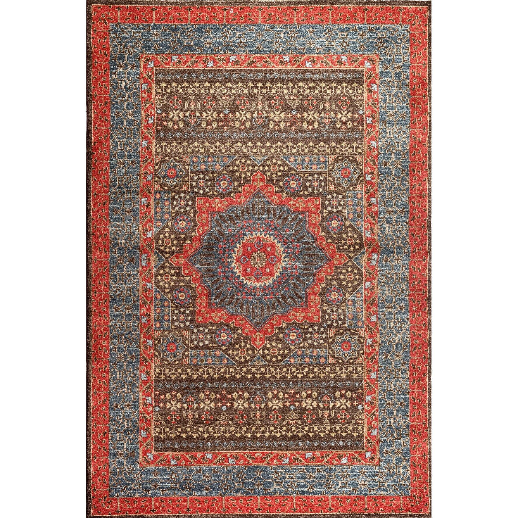 marvel blue red area rug reviews joss main. Black Bedroom Furniture Sets. Home Design Ideas
