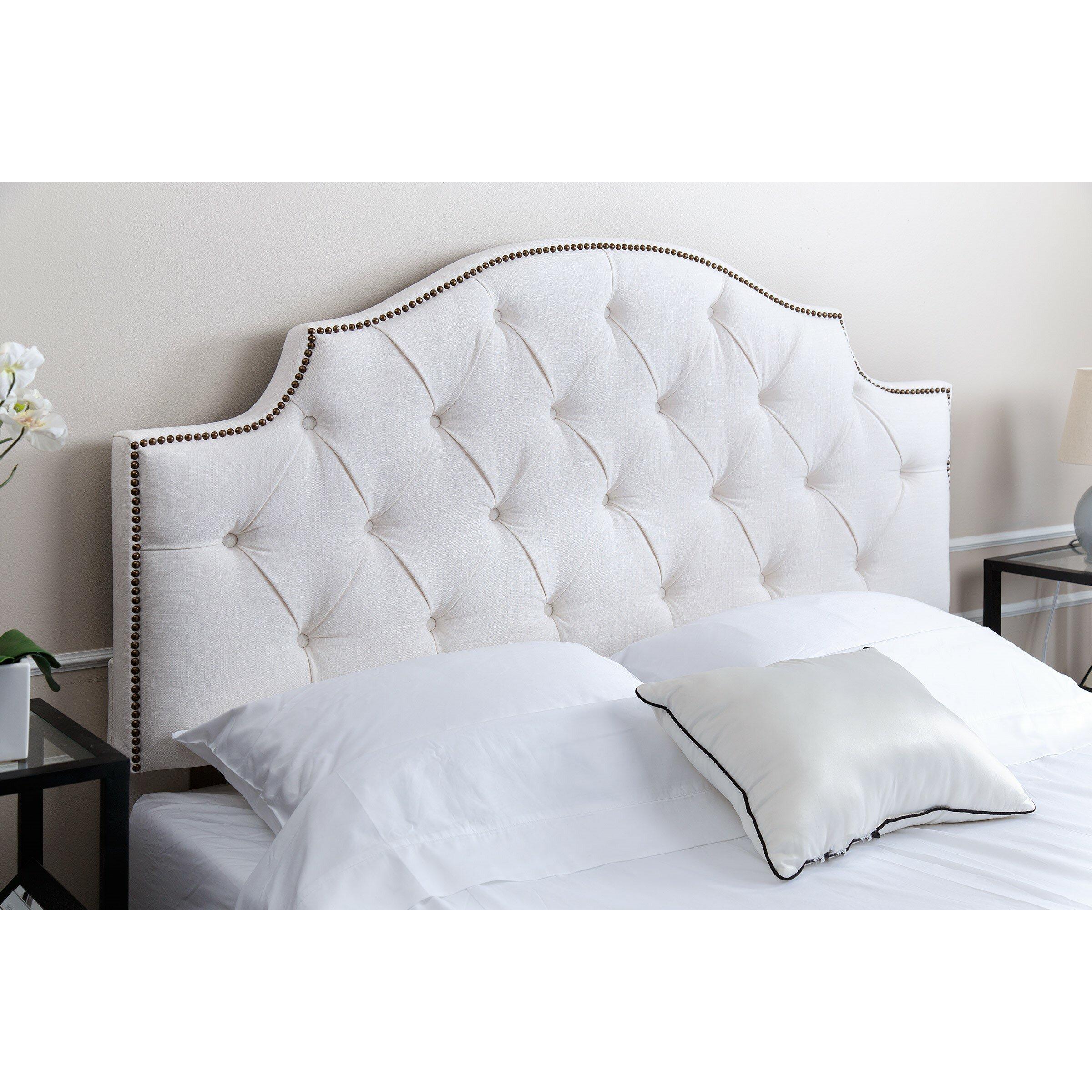 Mia Bedroom Furniture Mia Upholstered Headboard Reviews Joss Main