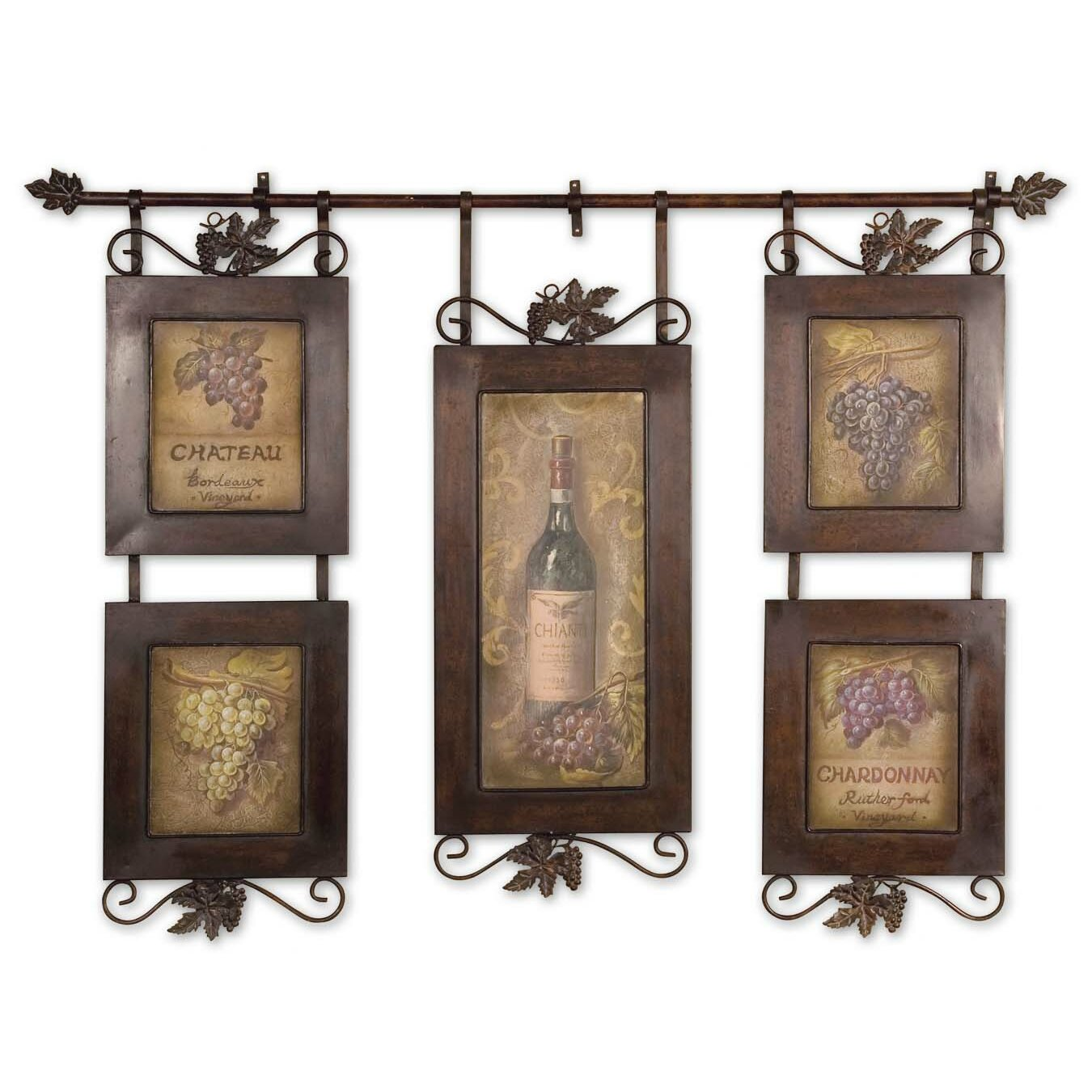 Darby Home Cou0026reg; Hanging Wine Wall ...