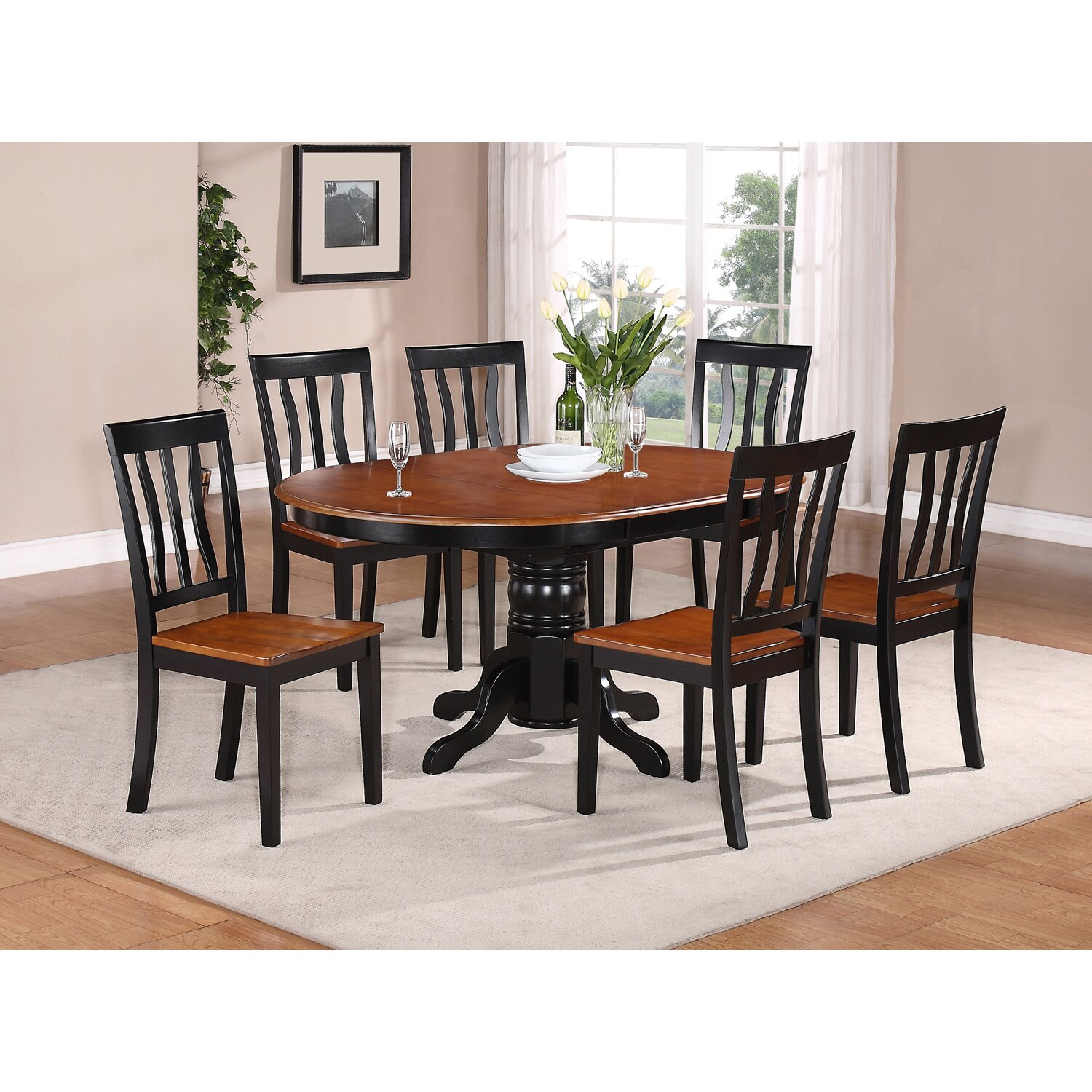 Darby Home Co C2 AE Attamore 7 Piece Dining Set DBYH wayfair kitchen chairs Darby Home Co reg Attamore 7 Piece Dining Set