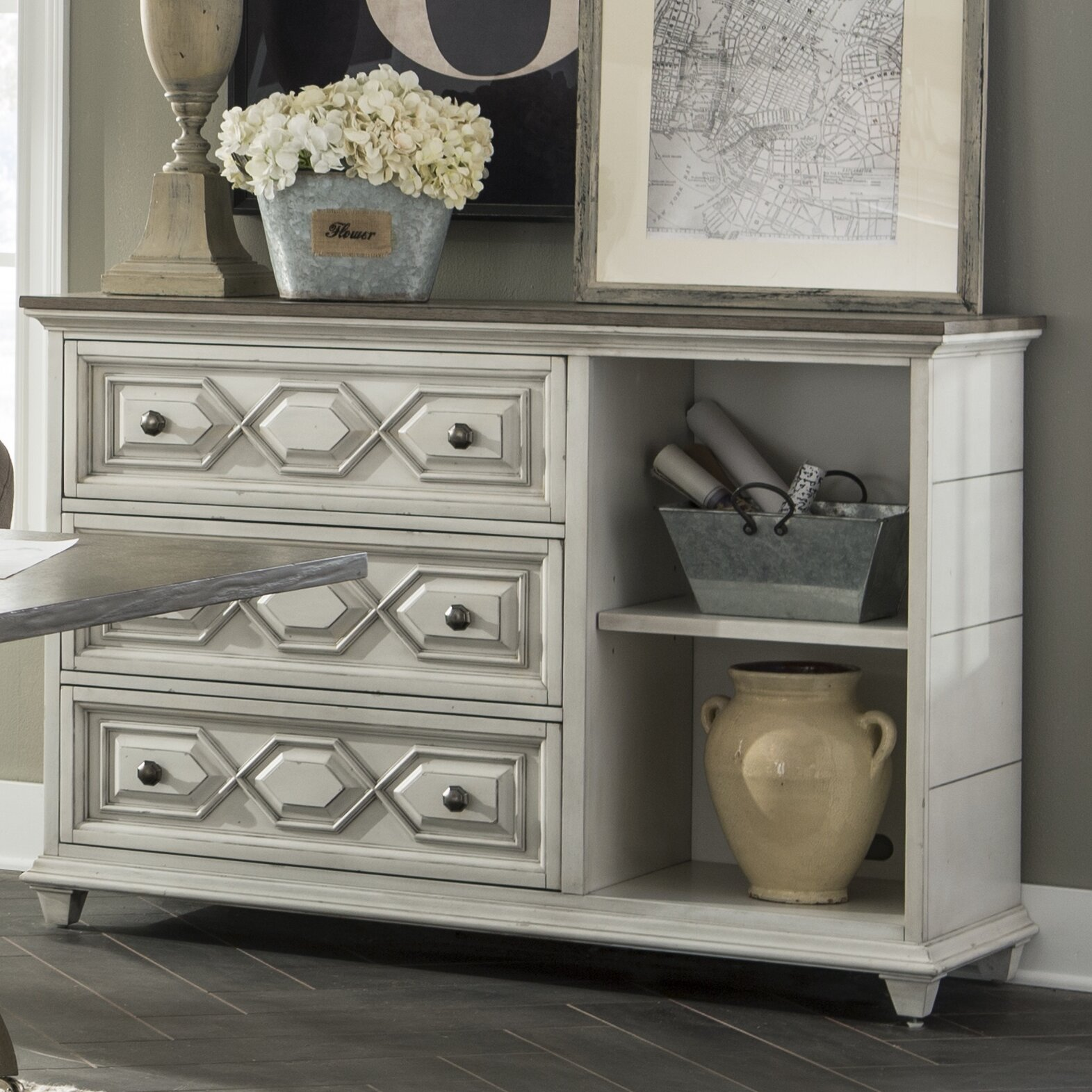 6 Drawer Lateral File Cabinet Darby Home Co Wilburn 3 Drawer Lateral Filing Cabinet Wayfair