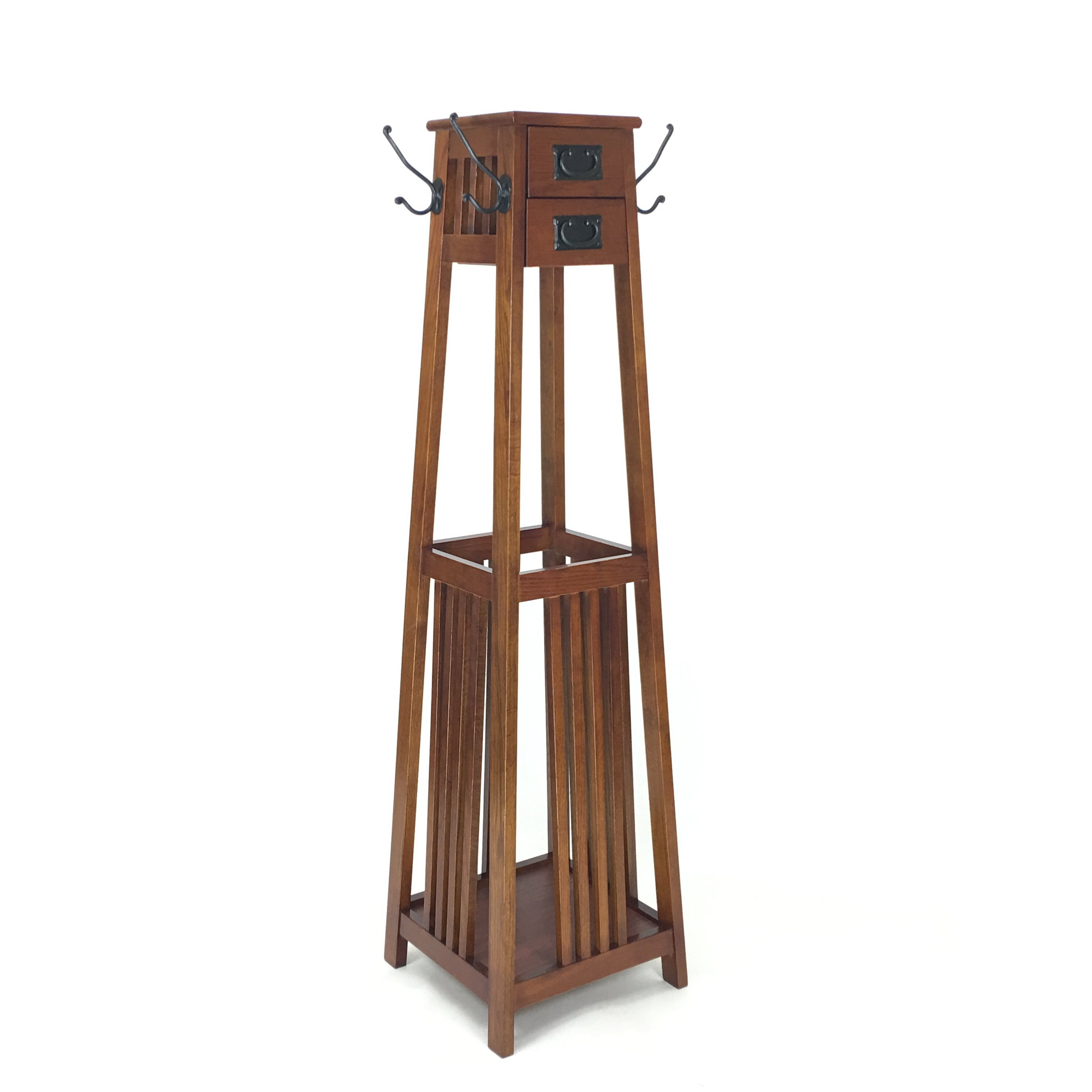 Darby Home Co Vertical Squared Legs Coat Stand Amp Reviews