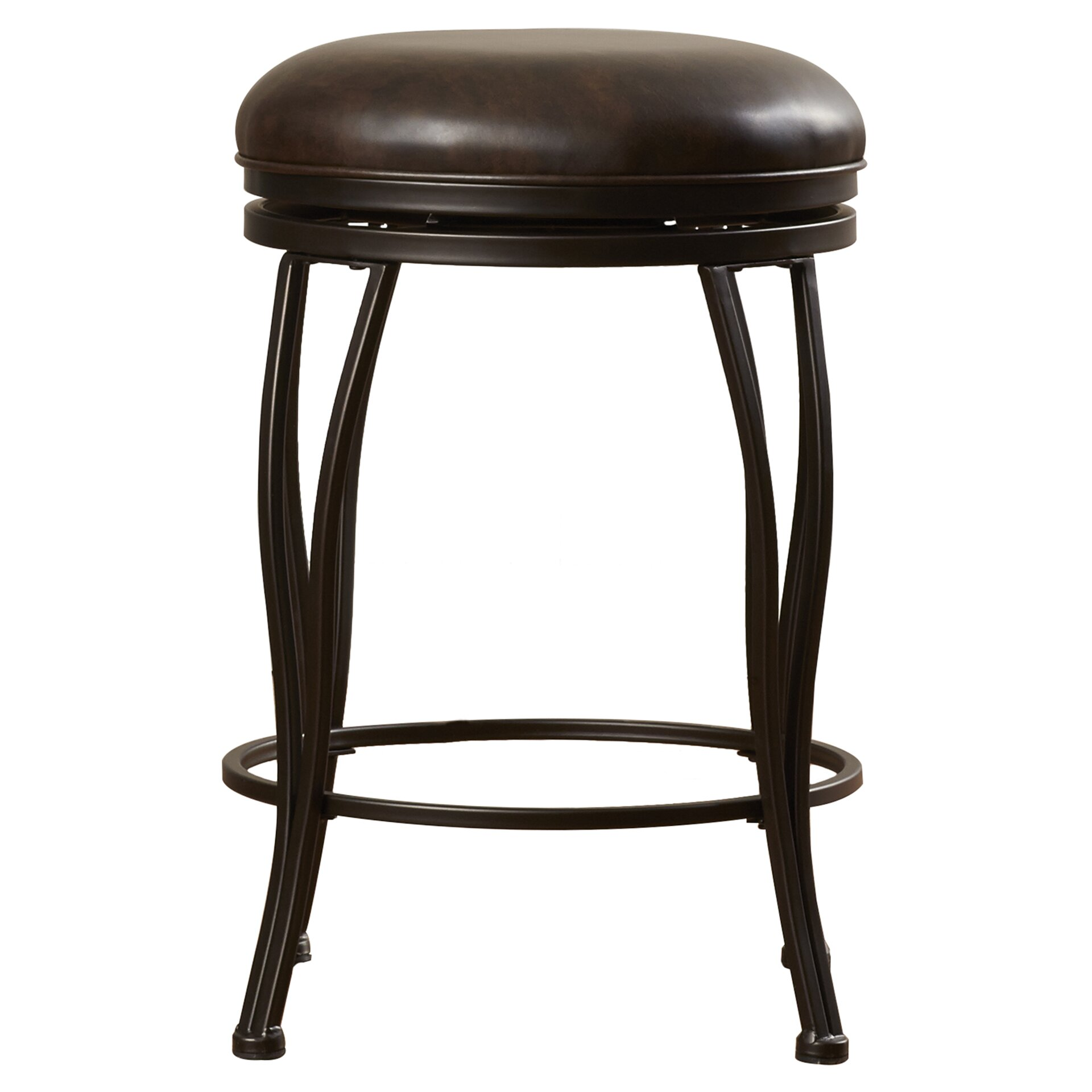 Alcott Hill Pagnano 24 Quot Swivel Bar Stool With Cushion