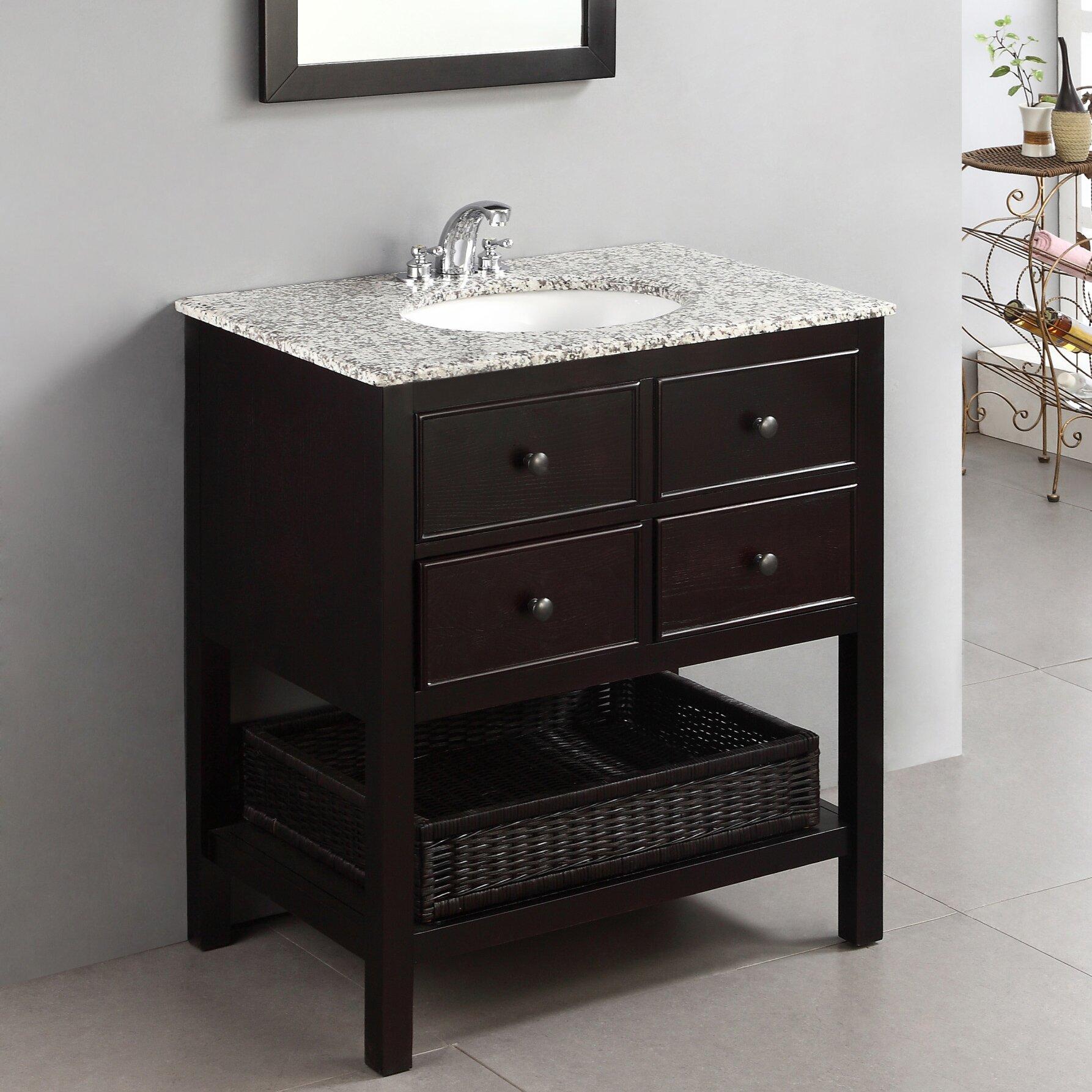 Alcott Hill reg  Gettysburg 30 quot  Single Bathroom Vanity Set. Alcott Hill Gettysburg 30  Single Bathroom Vanity Set   Reviews