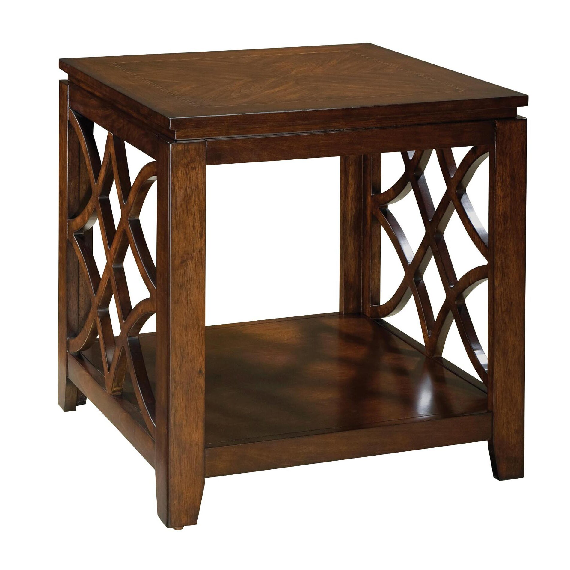 ... Patio Furniture Design Centers; Alcott Hill Reg Boulder Creek End Table  ...