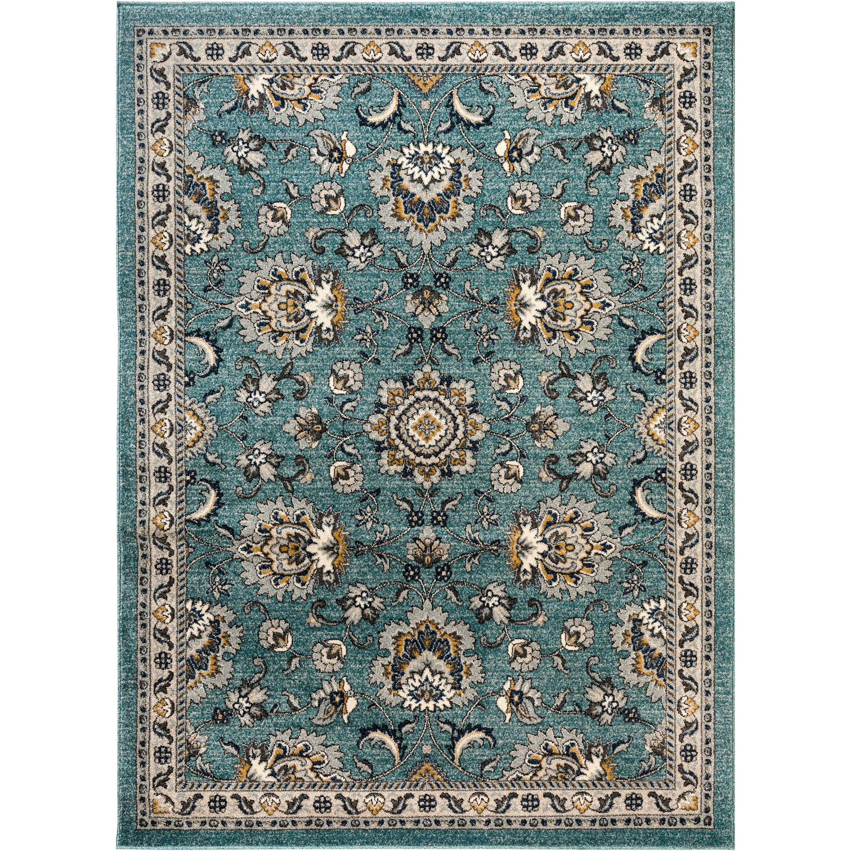 Alcott Hill Duanesburg Aqua Area Rug & Reviews