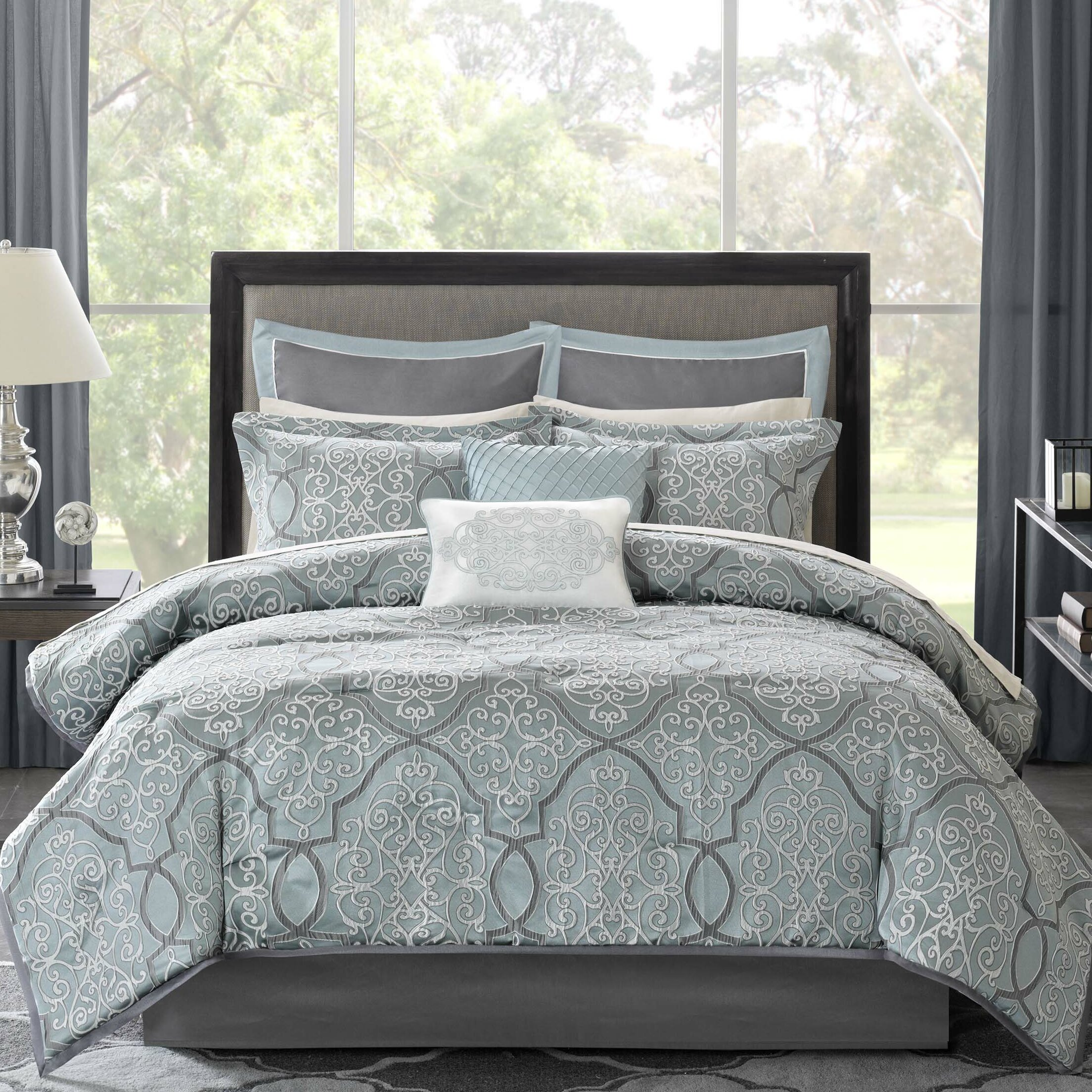 Alcott Hill Dreiling 12 Piece Comforter Set & Reviews ...