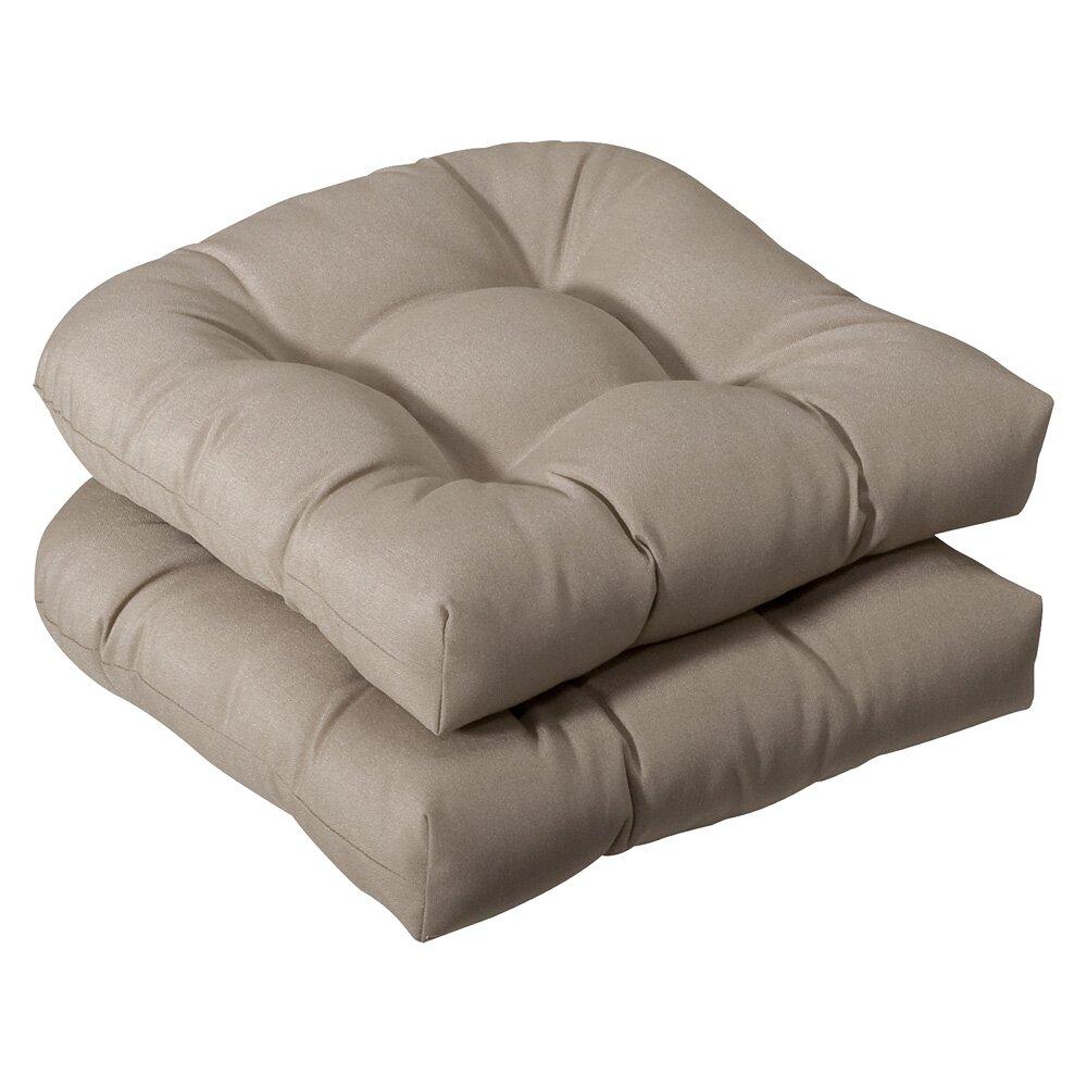 charlton home tadley outdoor dining chair cushion reviews wayfair. Black Bedroom Furniture Sets. Home Design Ideas