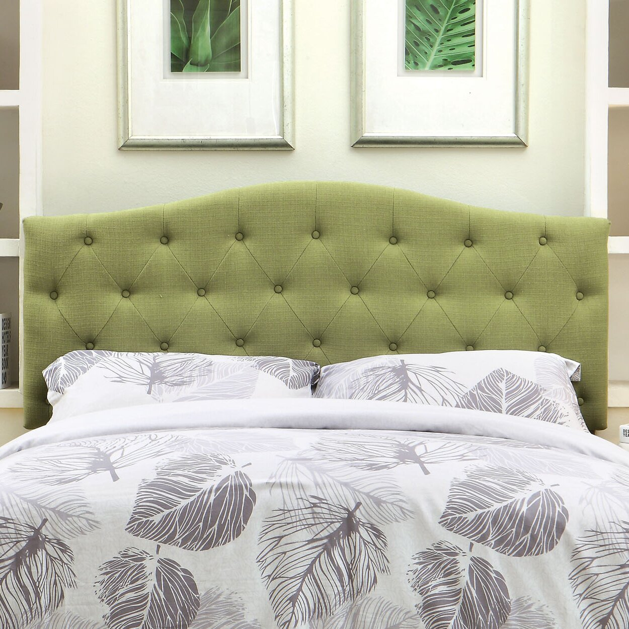 How to cover a headboard - Charlton Home Reg Scarcly Upholstered Panel Headboard