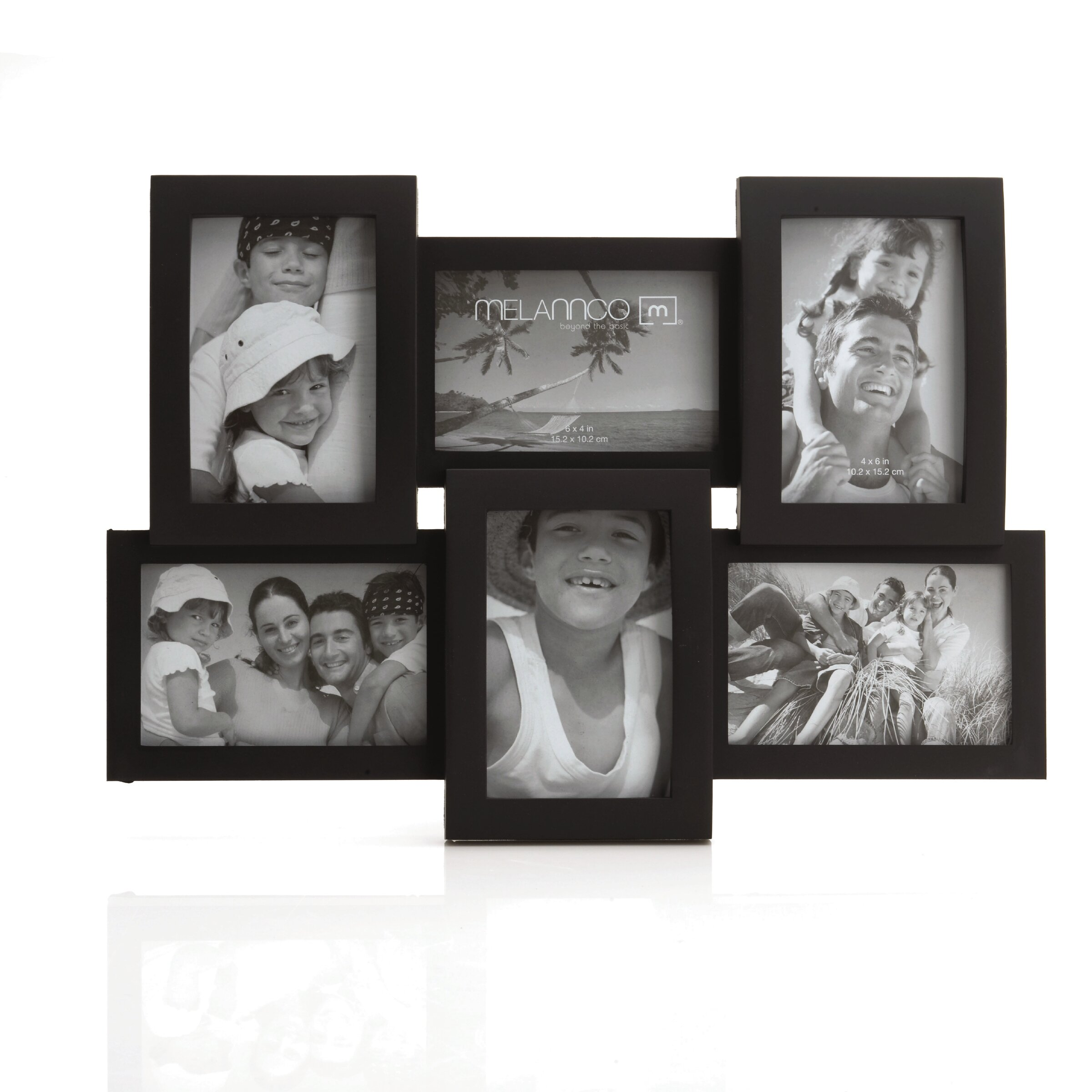 charlton home 6 opening collage frame