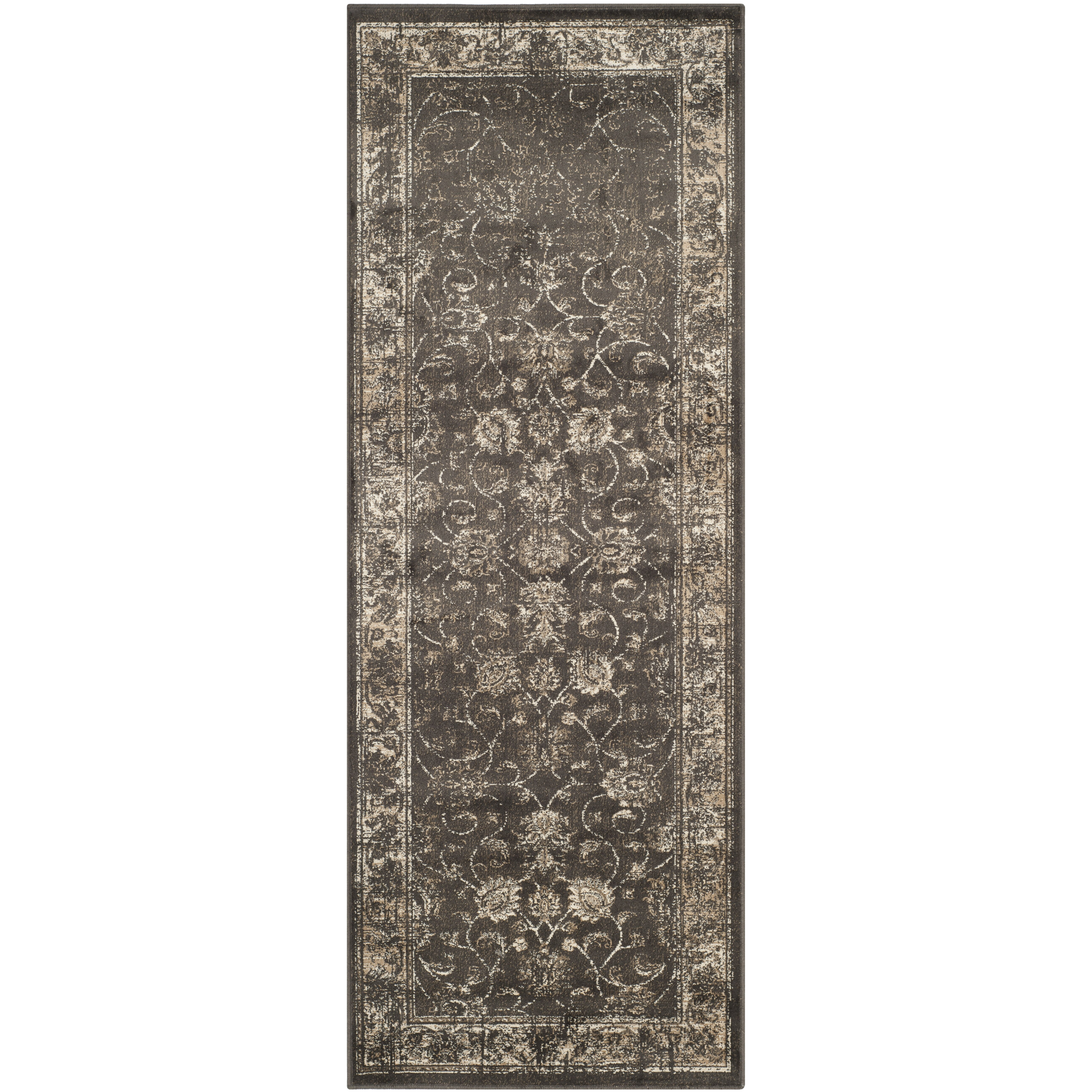 Charlton Home Rindge Soft Anthracite Area Rug & Reviews