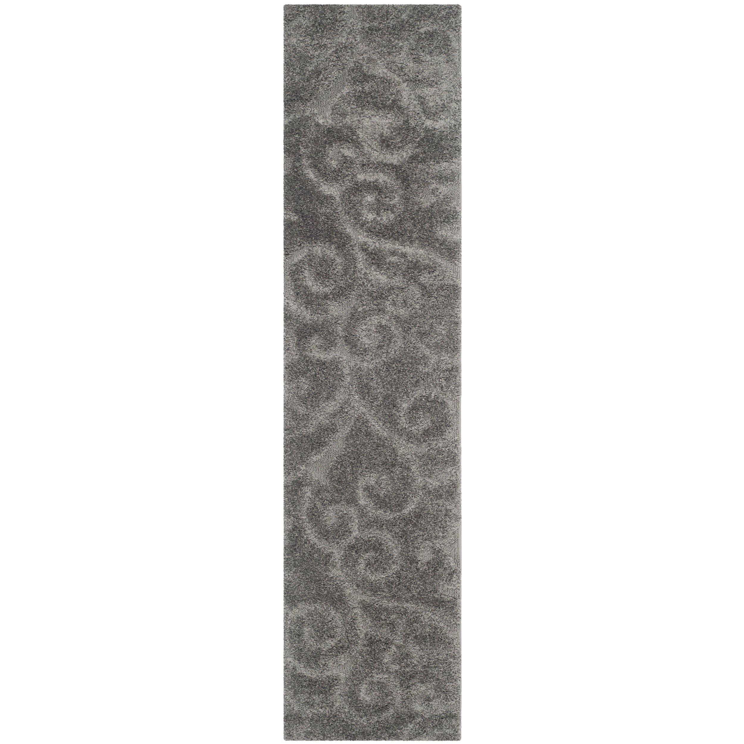 Rowes Furniture Charlton Home Rowes Swirl Grey Area Rug & Reviews | Wayfair.ca