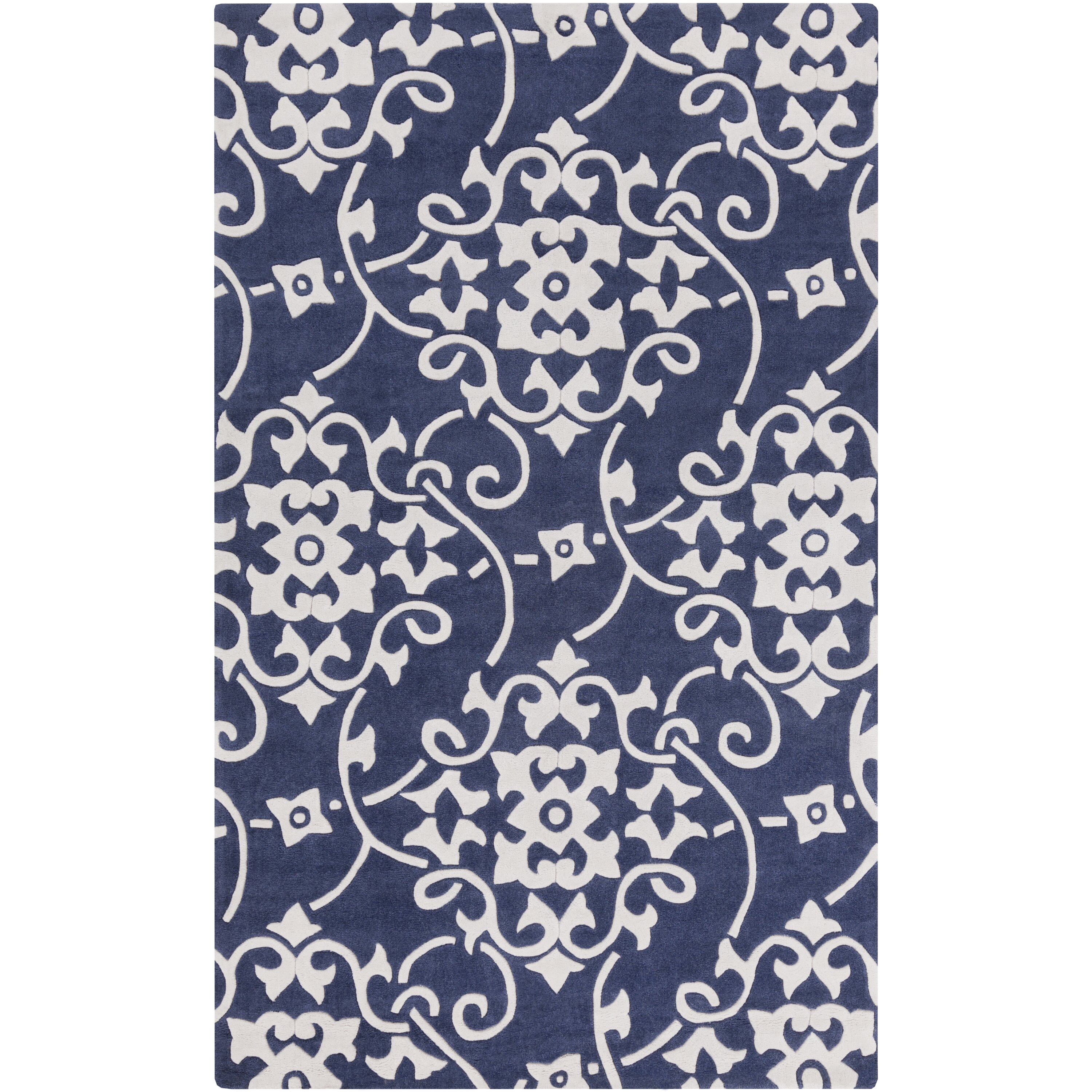 Natural Area Rugs Coupon 2017. Charlton Homeu0026reg; Windsor Hand Tufted  Navy/White Area Rug