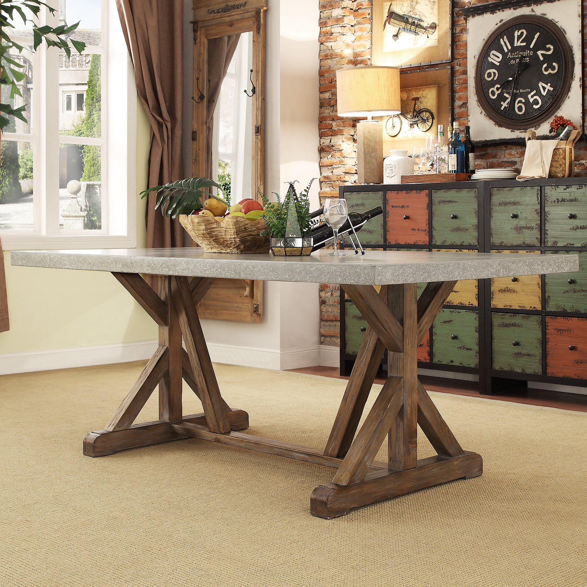 For Kitchen Tables 8 Seat Kitchen Dining Tables Youll Love Wayfair