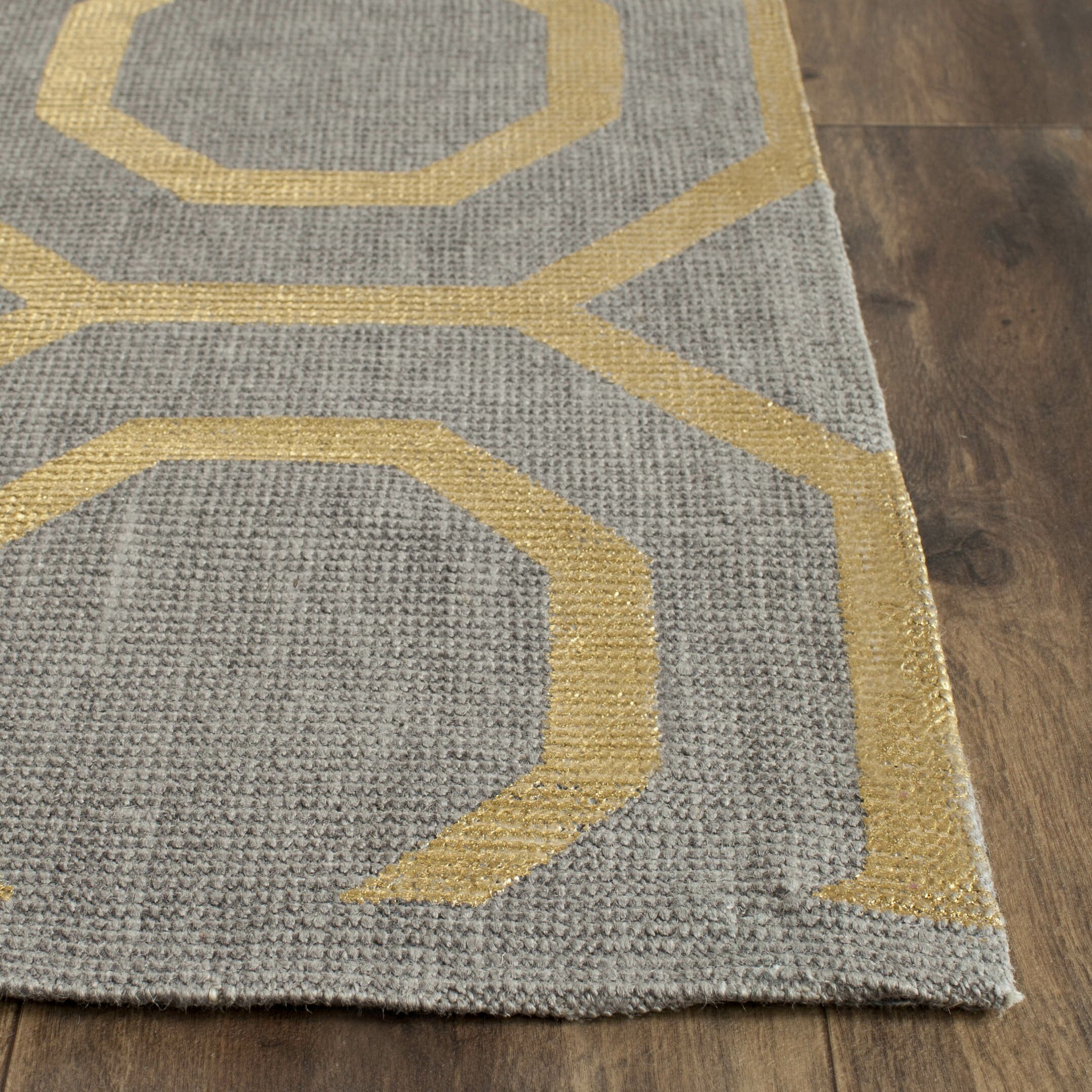 Gold And Grey Rug Designs