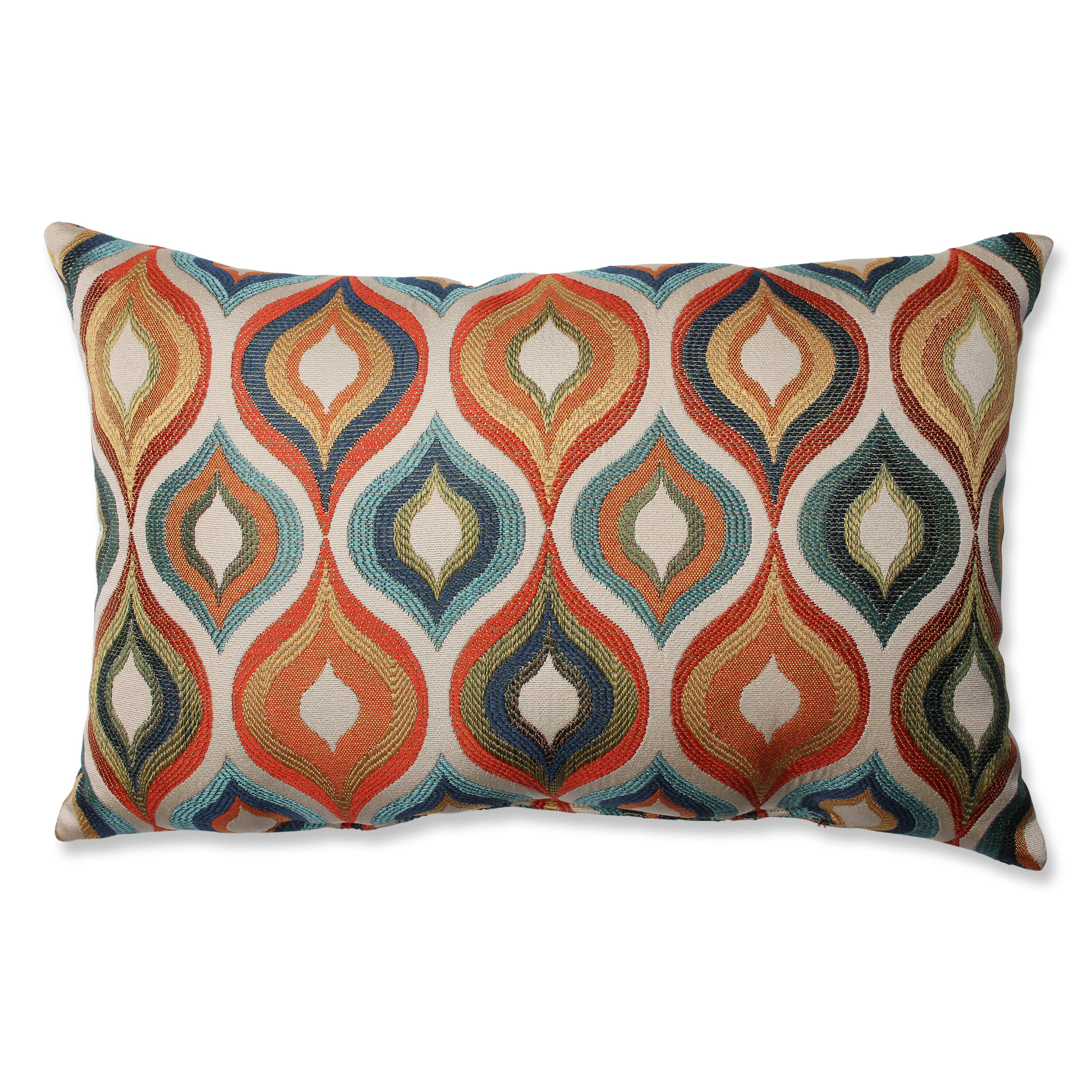 Brown and teal throw pillows - Varick Gallery Reg Woodlynne Jewel Throw Pillow