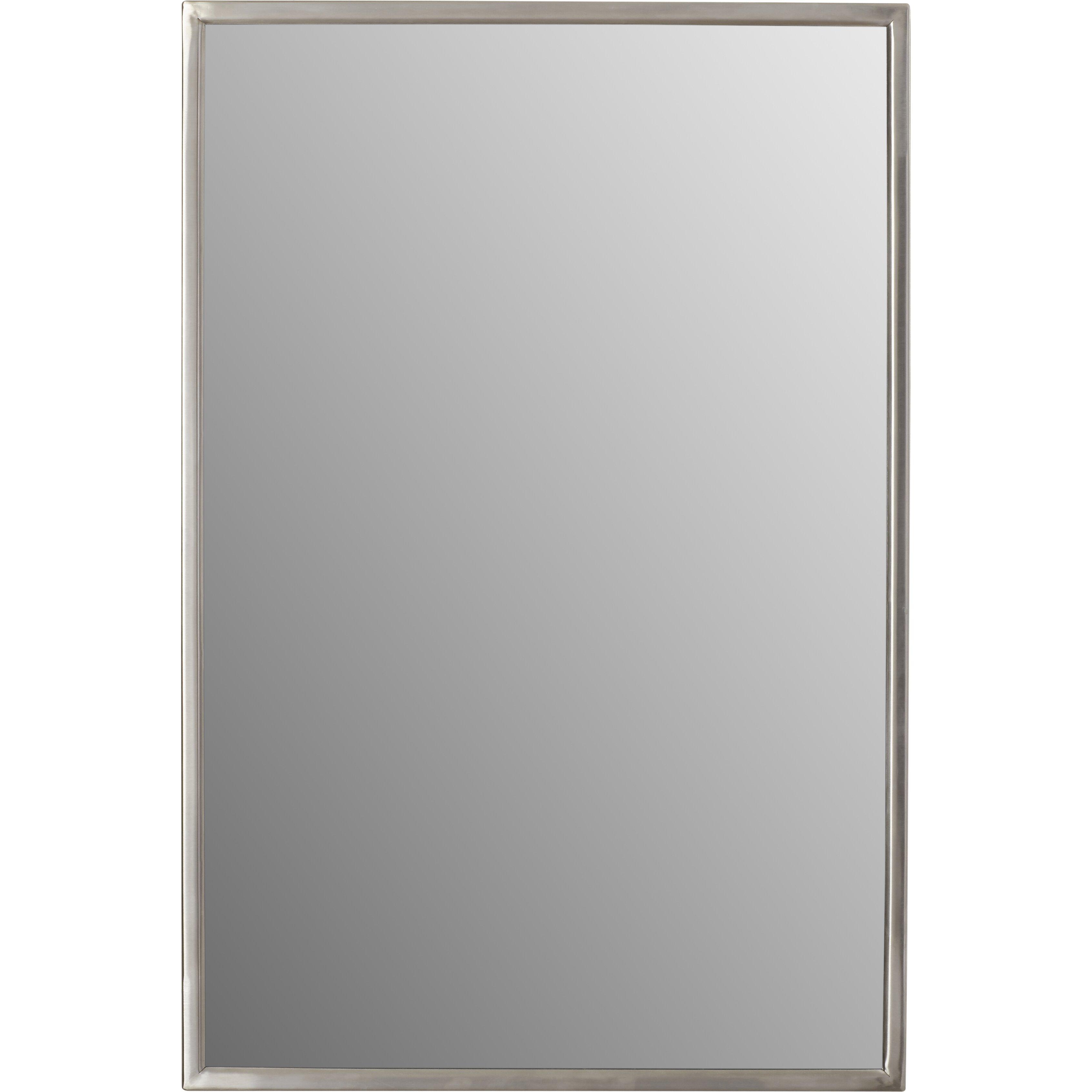 varick gallery ewell angle frame wall mirror