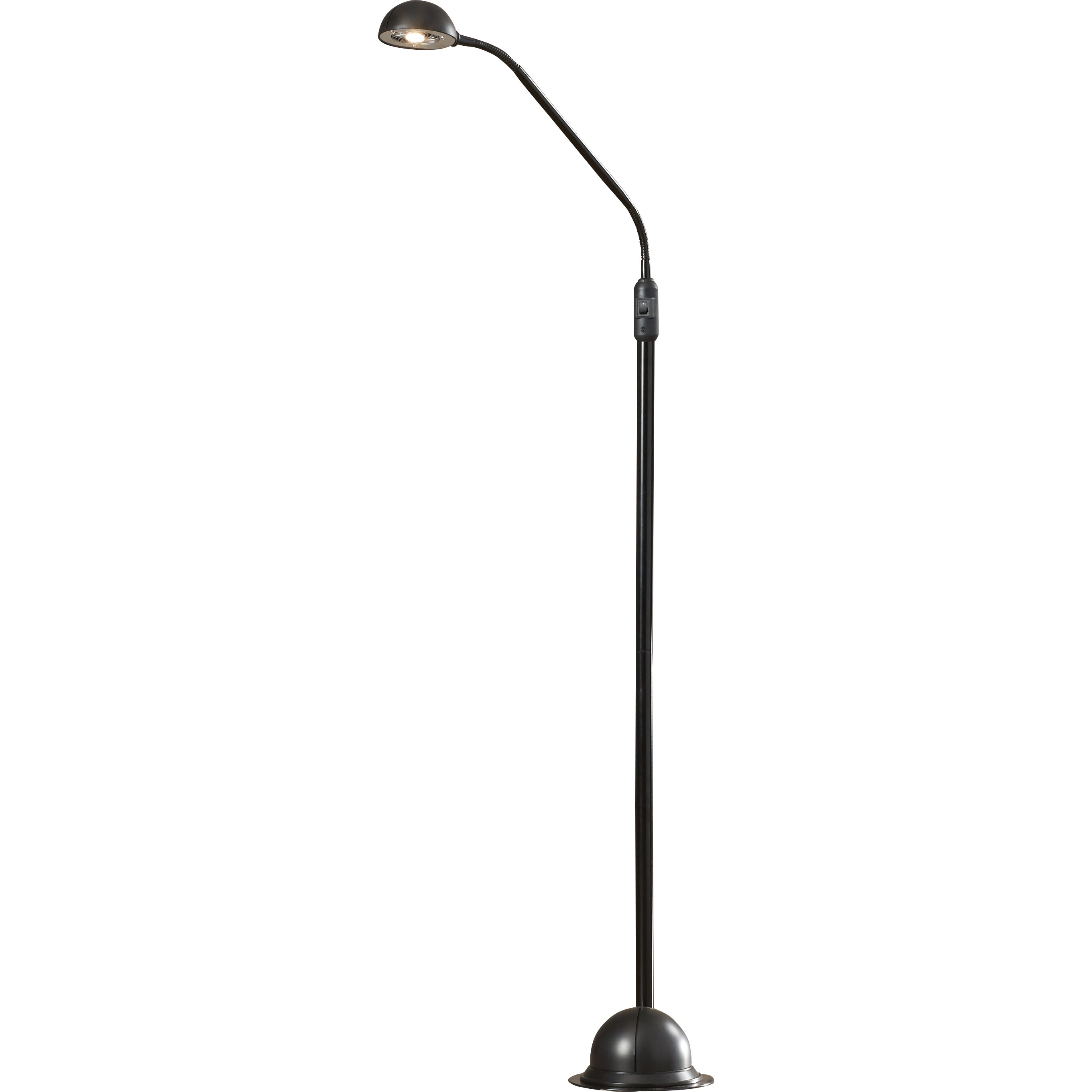 Varick Gallery Smithfield 61u0026quot; LED Task Floor Lamp u0026 Reviews : Wayfair