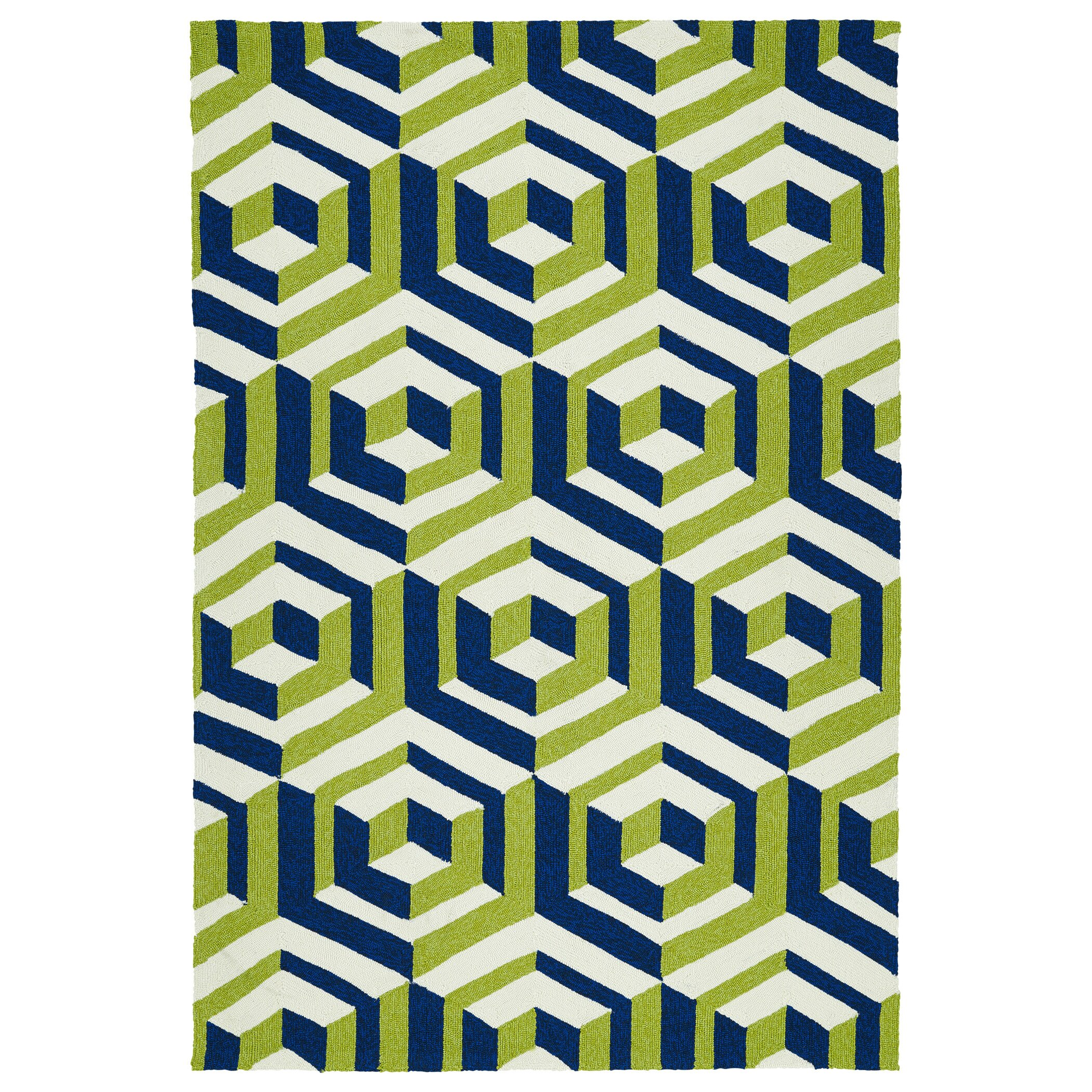 Navy And Yellow Rug Home Decor