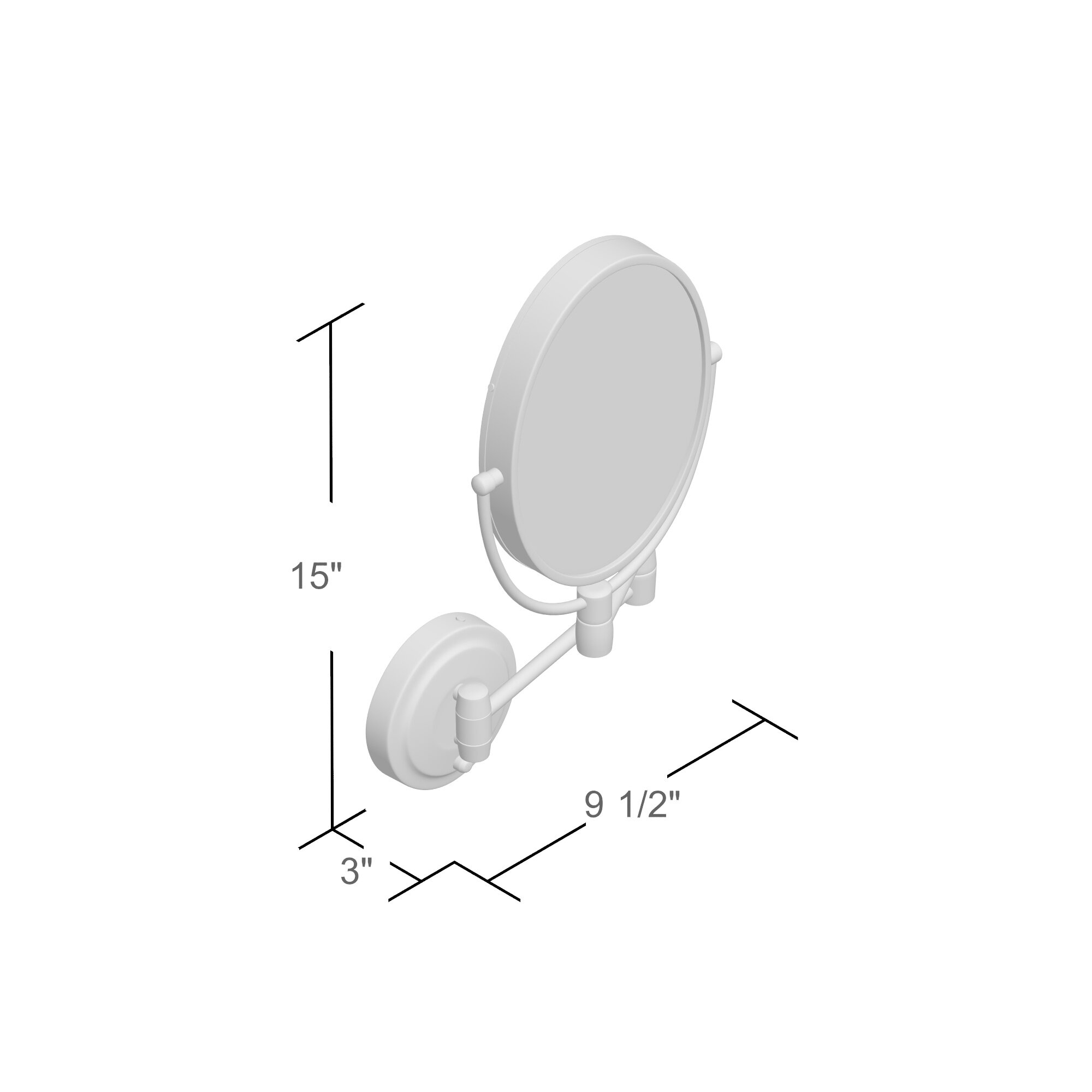 varick gallery howell cordless dual led lighted oval wall mount varick gallery reg howell cordless dual led lighted oval wall mount mirror 1x and 10x