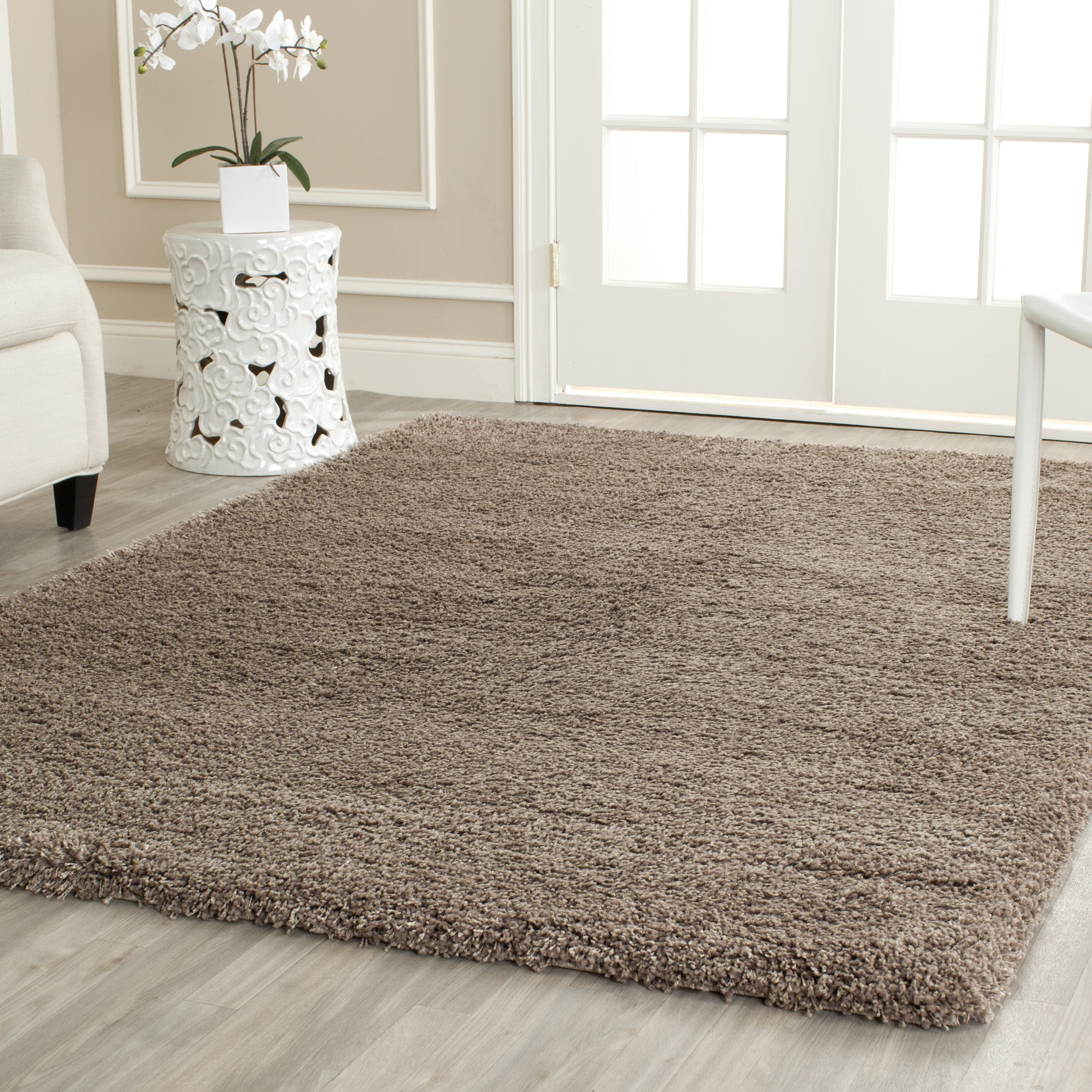 Varick Gallery Boice Taupe Area Rug Amp Reviews Wayfair Ca