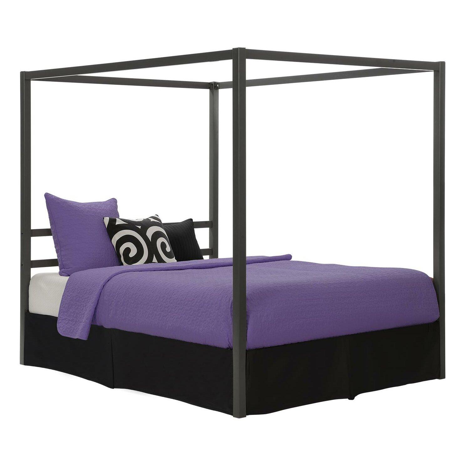 varick gallery felice queen canopy bed