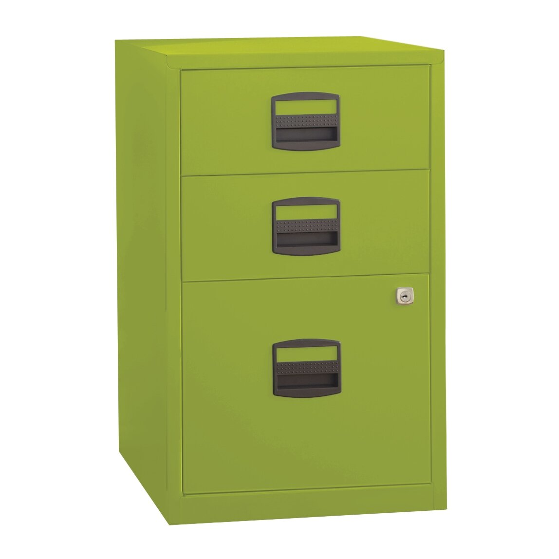 Green File Cabinet Varick Gallery Castaneda 3 Drawer Steel Home Or Office Filing