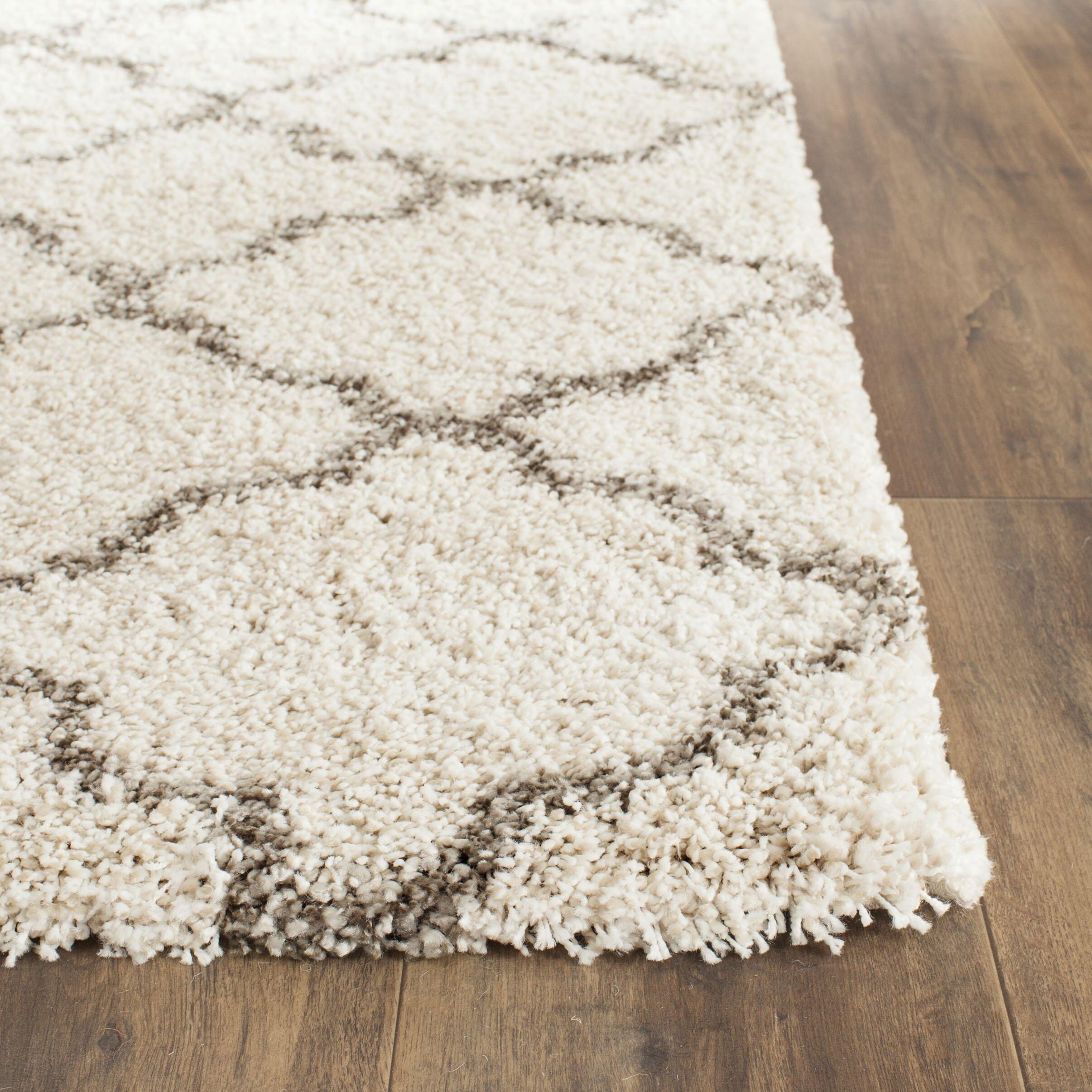 brayden marco shag ivorygray area rug