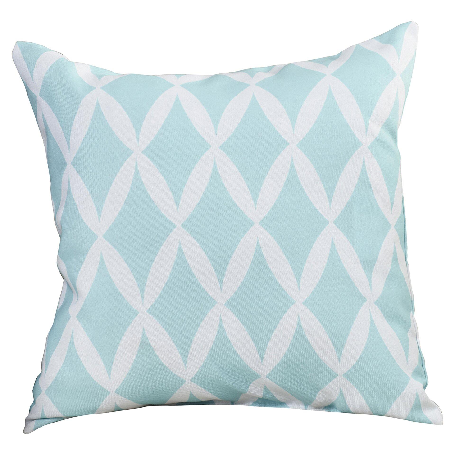 Throw Pillow Down : Brayden Studio Herman Geometric Down Throw Pillow & Reviews Wayfair