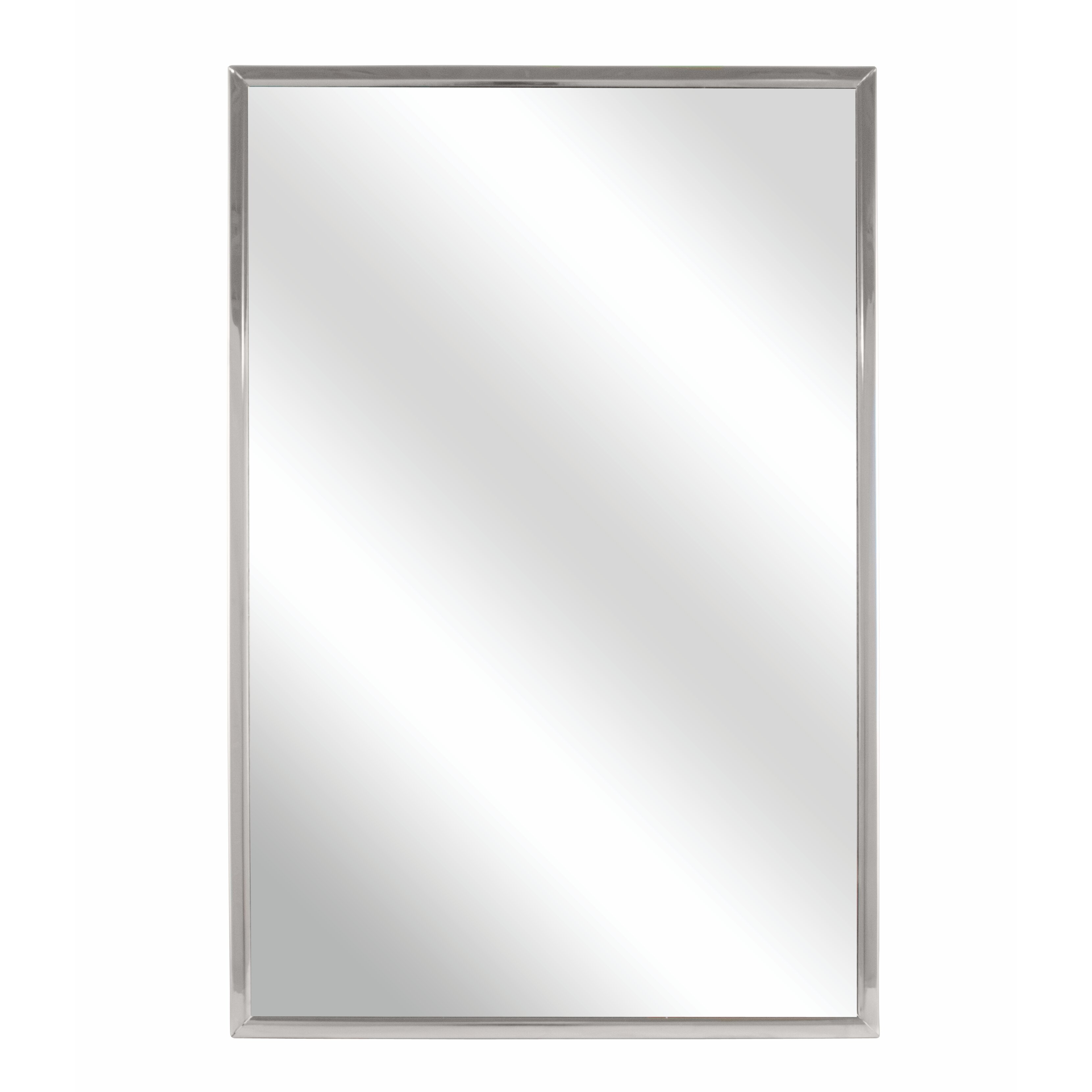 quick view framed wall mirror
