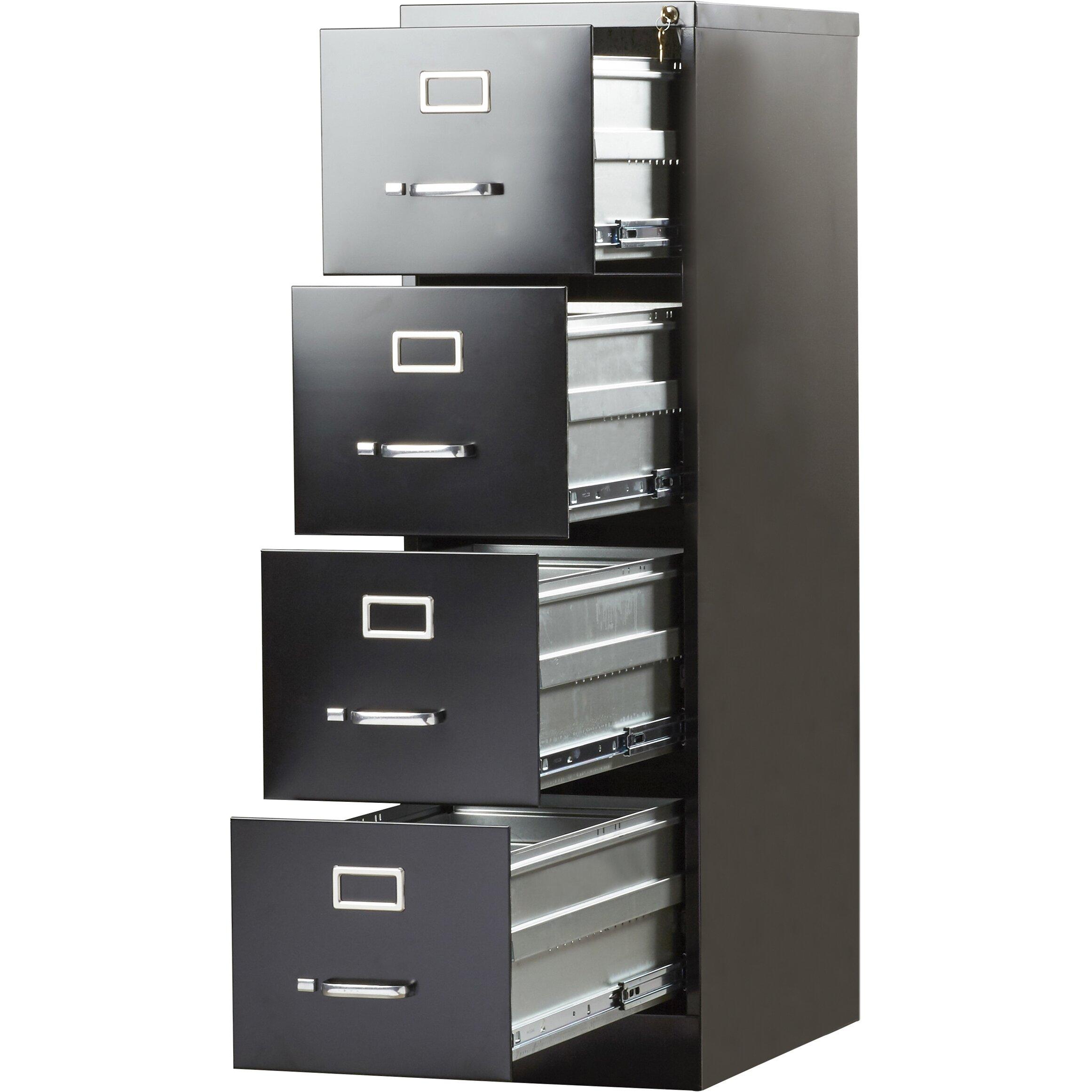 File Cabinet Brayden Studio Kane 4 Drawer Commercial Letter Size File Cabinet
