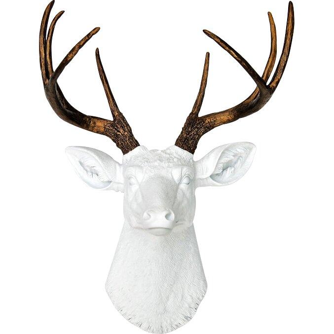 Brayden Studiou0026reg; Large Deer Head Faux Taxidermy Wall ...