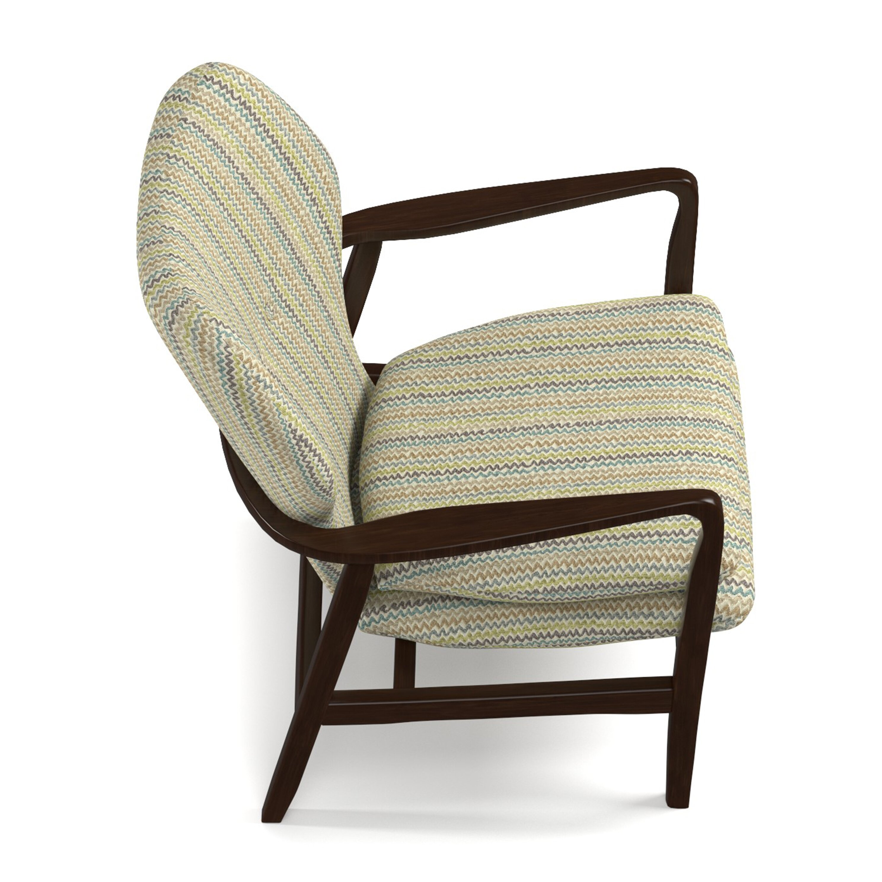 Brayden Studio Samson Wood Arm Chair Amp Reviews Wayfair