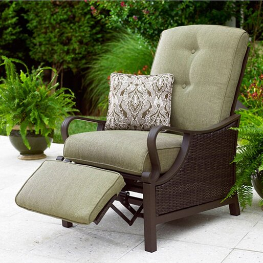 QUICK VIEW. Swayze Luxury Recliner Chair ... - Outdoor Club Chairs You'll Love Wayfair