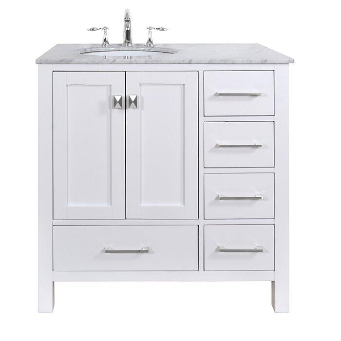 "Brayden Studio® Ankney 36"" Single Bathroom Vanity Set - Brayden Studio Ankney 36"
