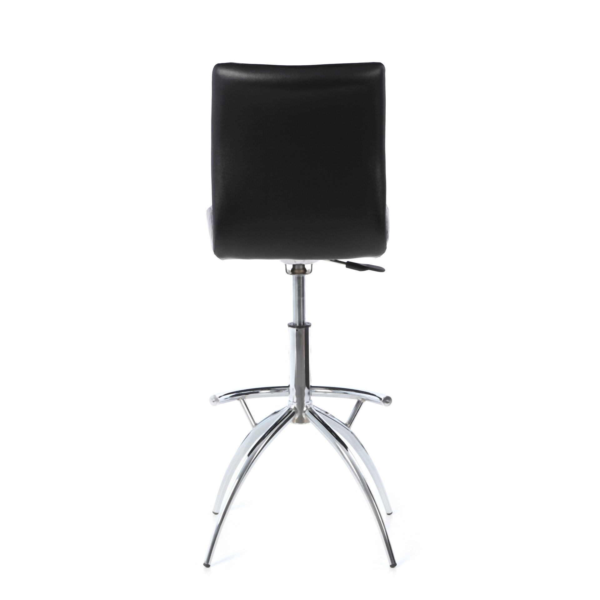 Wade Logan Shen Adjustable Height Swivel Bar Stool