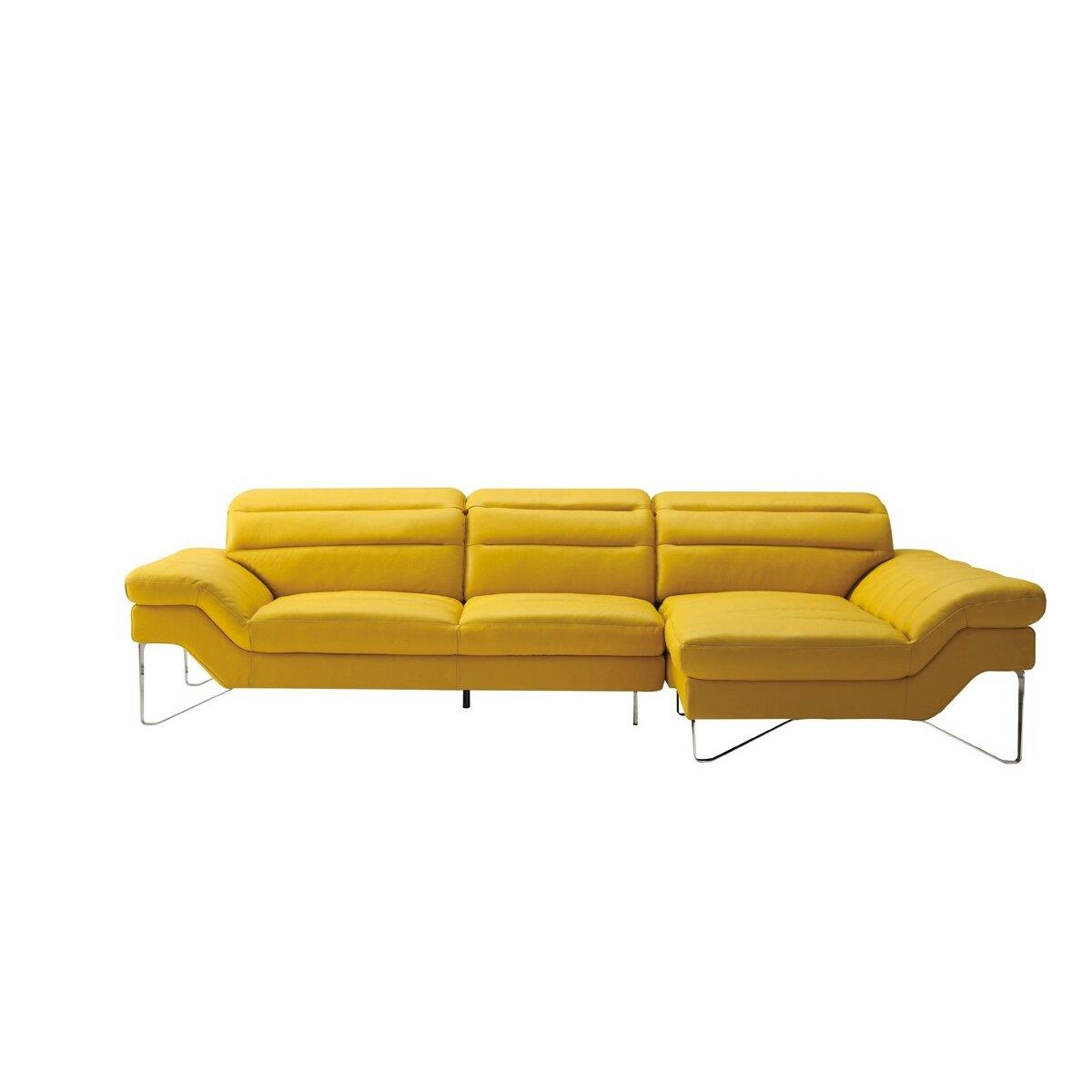 Wade Logan Rodolfo Leather Sofa
