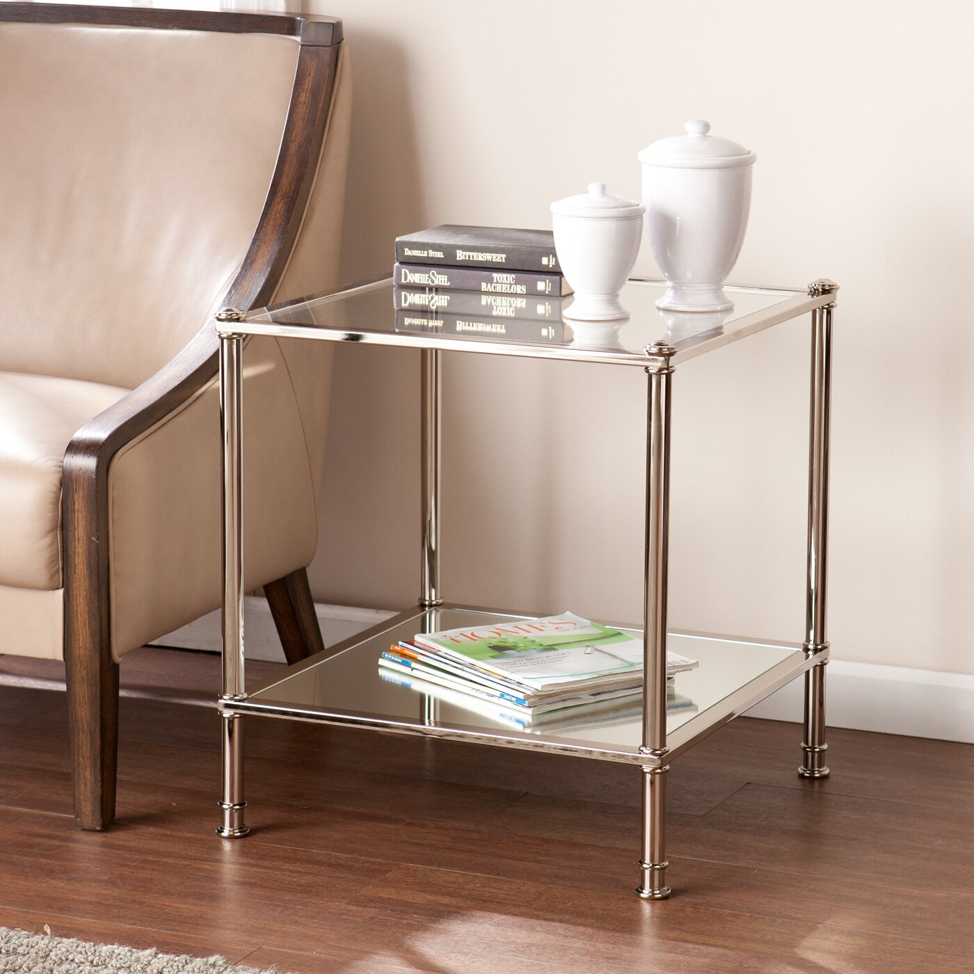 Logan Side Table ~ Wade logan atticus end side table reviews wayfair