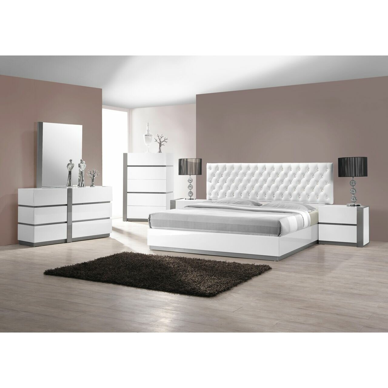 Modern Sleigh Bedroom Sets Modern Contemporary Bedroom Sets Allmodern