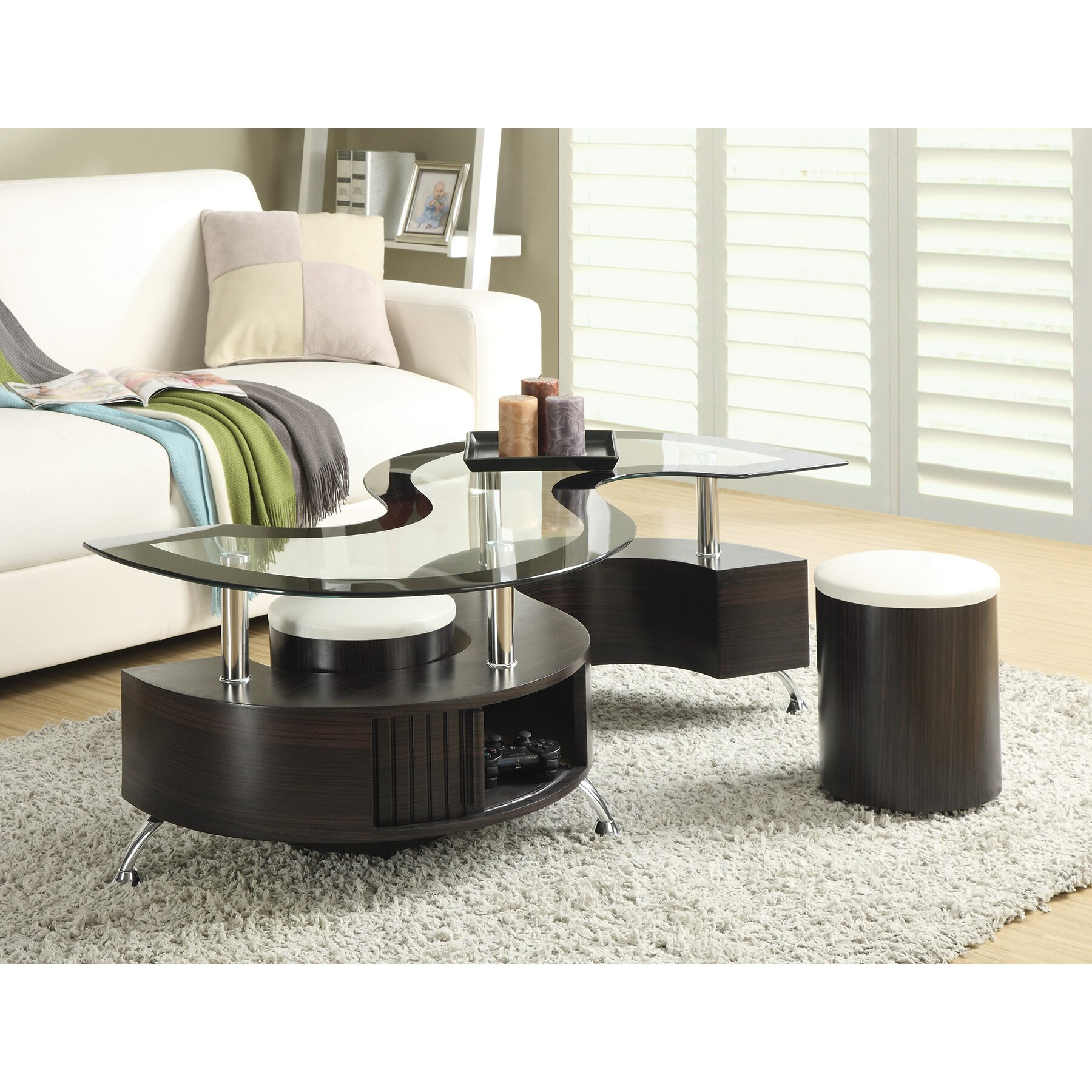 3 Piece Coffee Table SetCoffeTable
