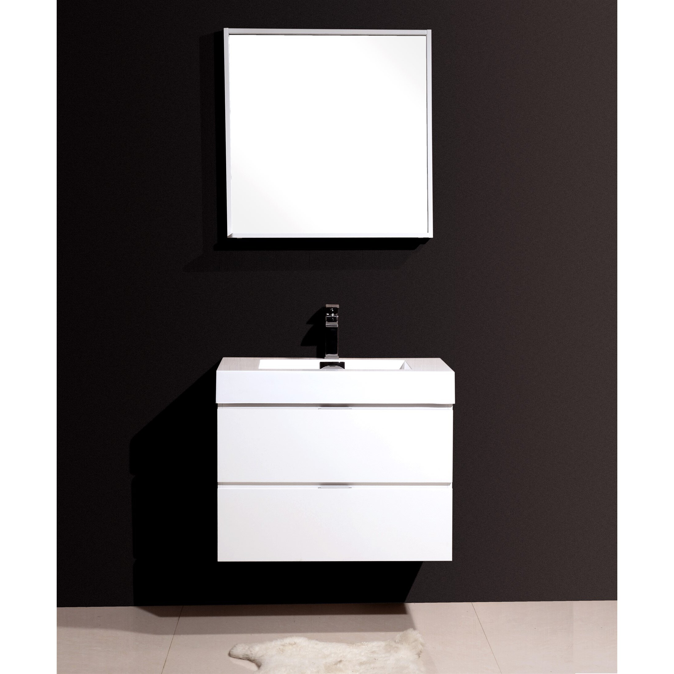 Wade Logan Tenafly 30 Single Wall Mount Modern Bathroom