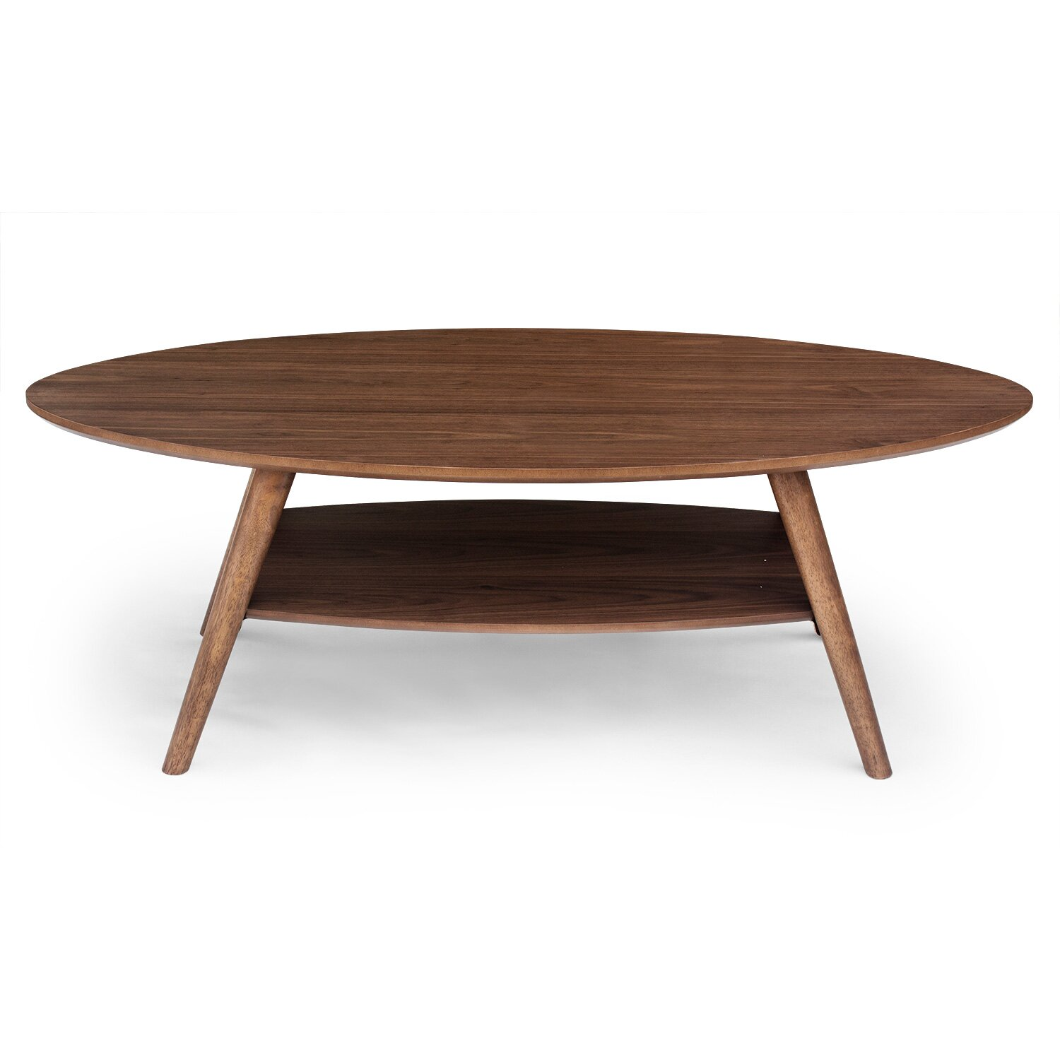 Airplane Wing Coffee Table Modern Oval Coffee Tables Allmodern