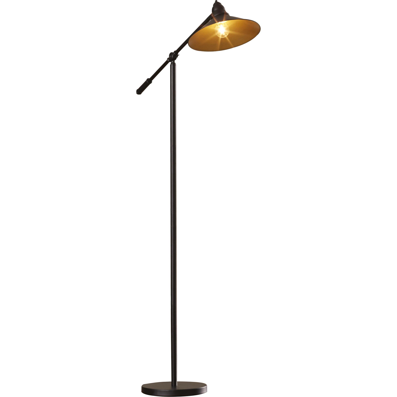 langley street hakan task floor lamp reviews wayfair. Black Bedroom Furniture Sets. Home Design Ideas