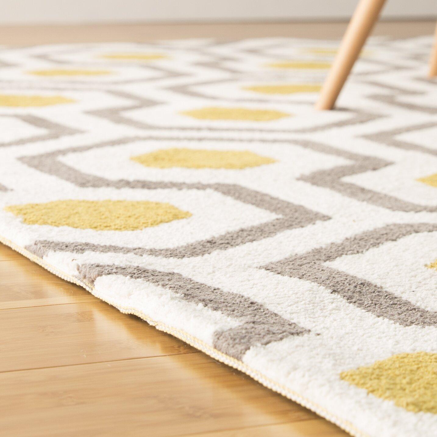 Design Yellow Area Rug gray yellow area rug roselawnlutheran langley street noam hand tufted beigegrayyellow rug