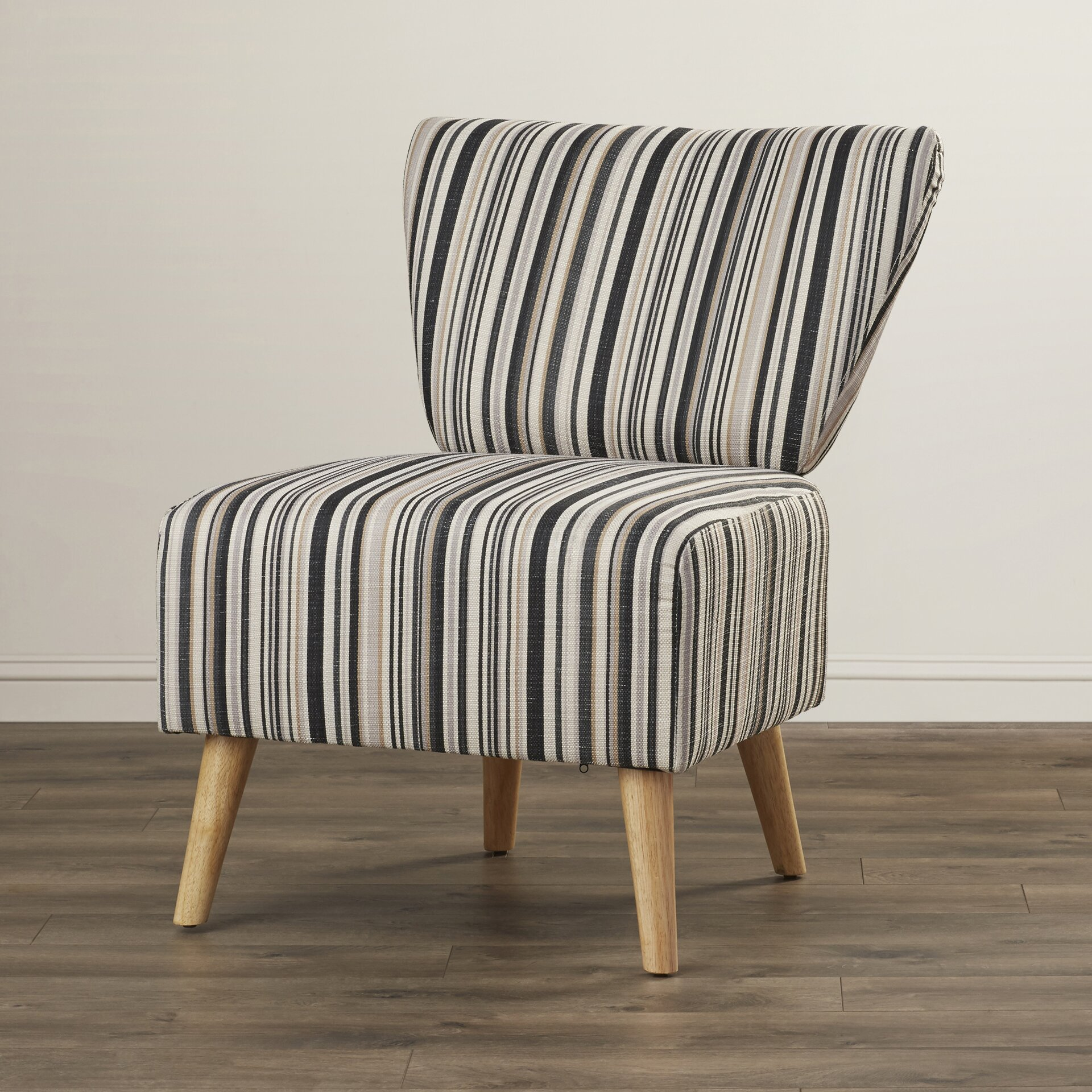 ... Langley Street Honolulu Stripe Print Slipper Chair · Plans For Outdoor  ...